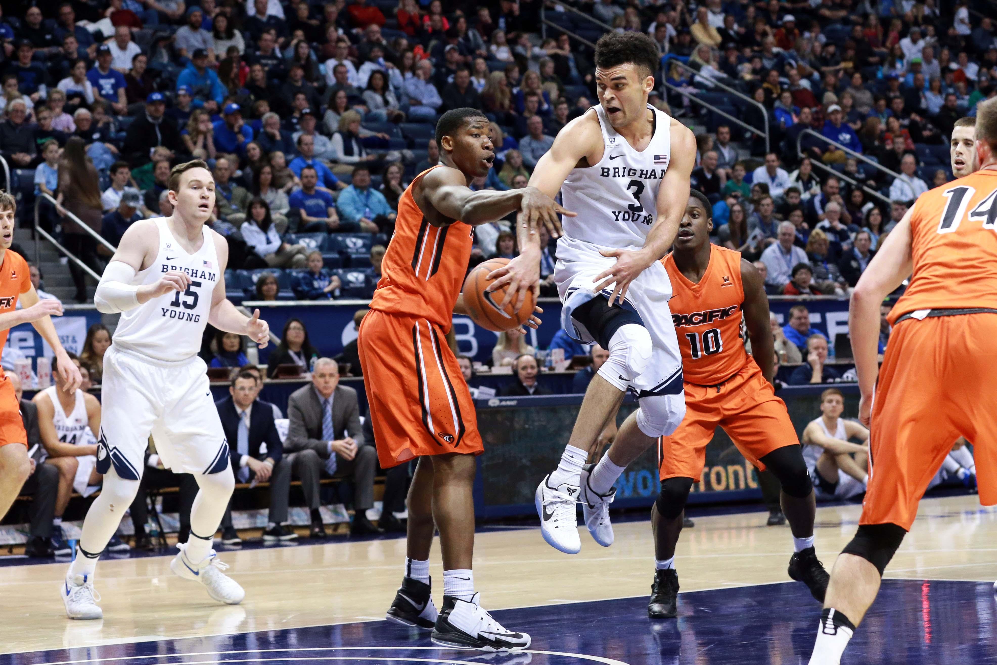 NCAA Basketball: Pacific at Brigham Young