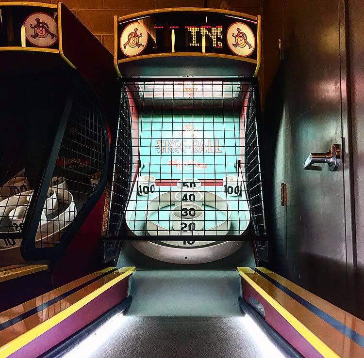 Skee-Ball at A4cade