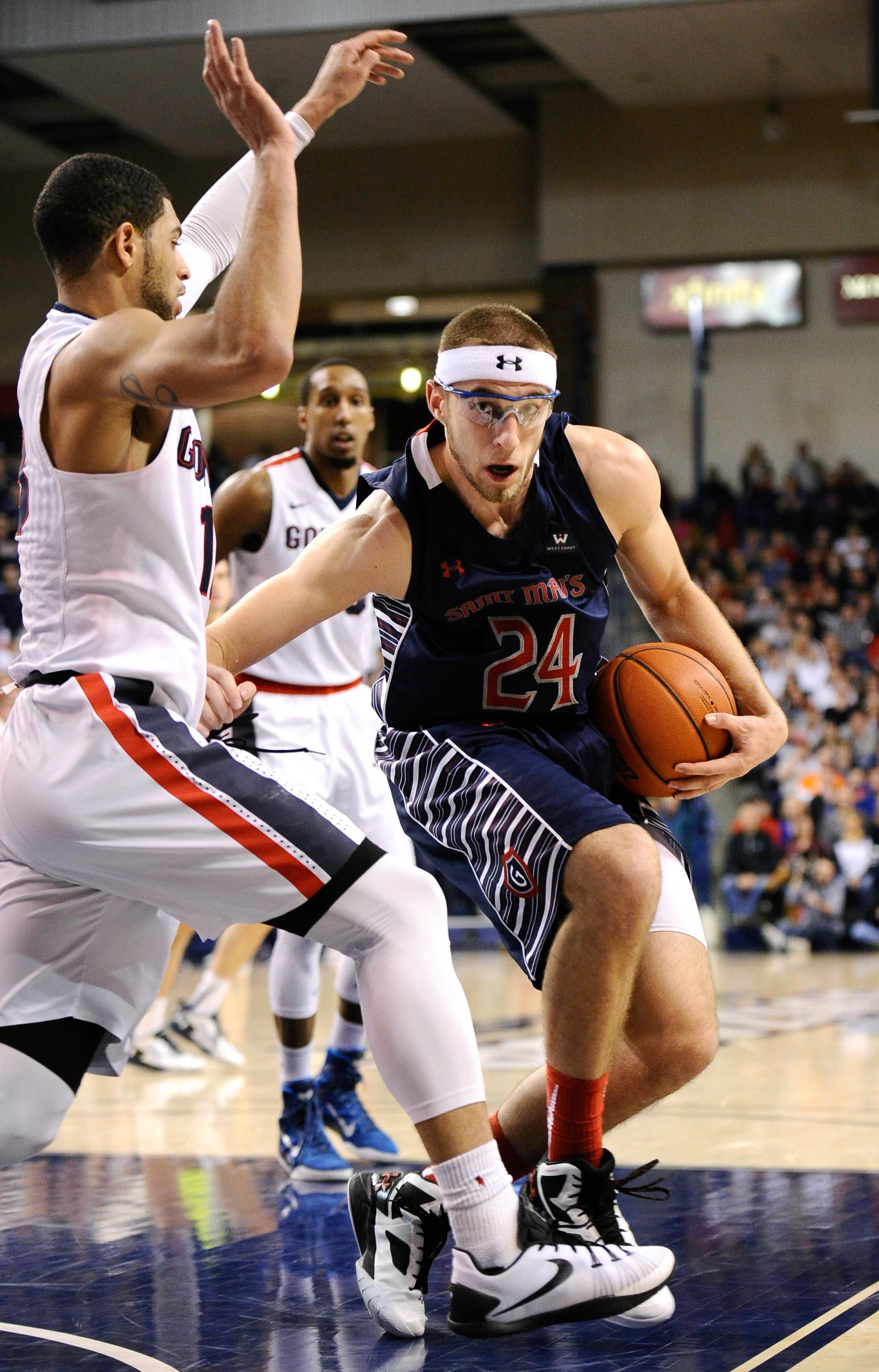 NCAA Basketball: St. Mary's at Gonzaga