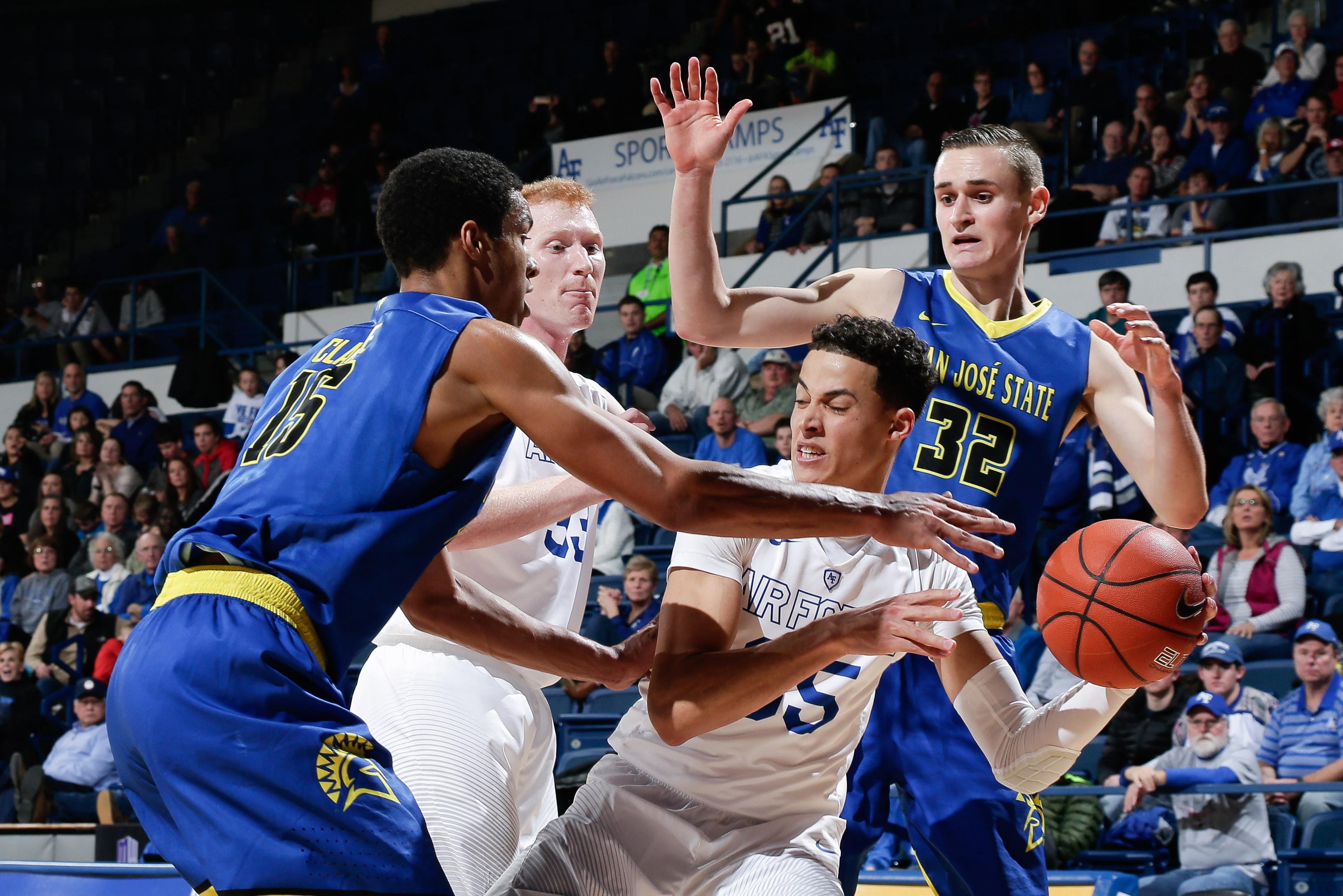 NCAA Basketball: San Jose State at Air Force