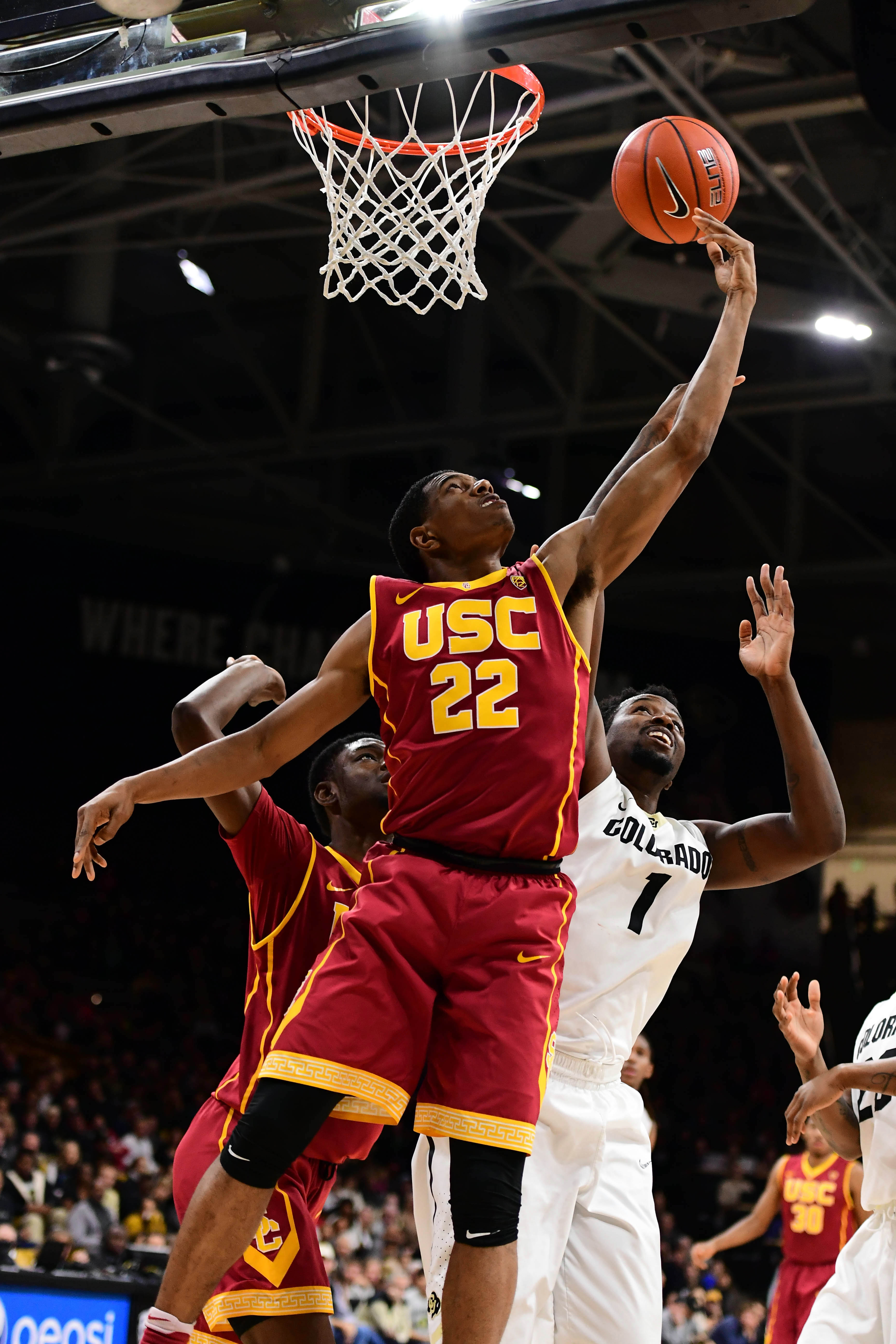 NCAA Basketball: Southern California at Colorado