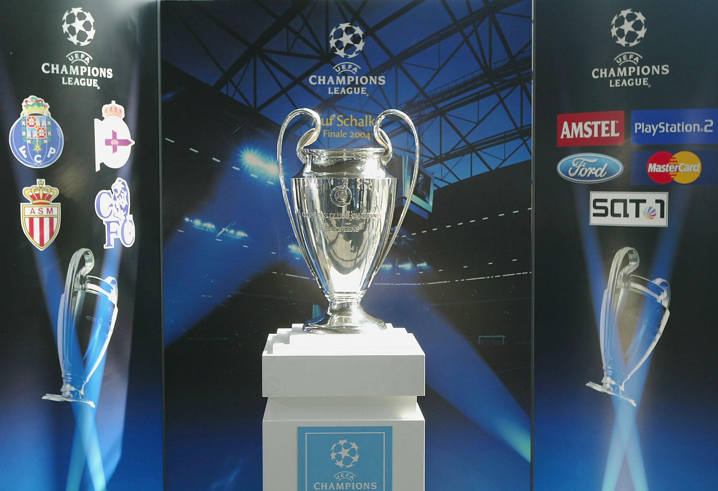 The Champions League Trophy Handover Ceremony
