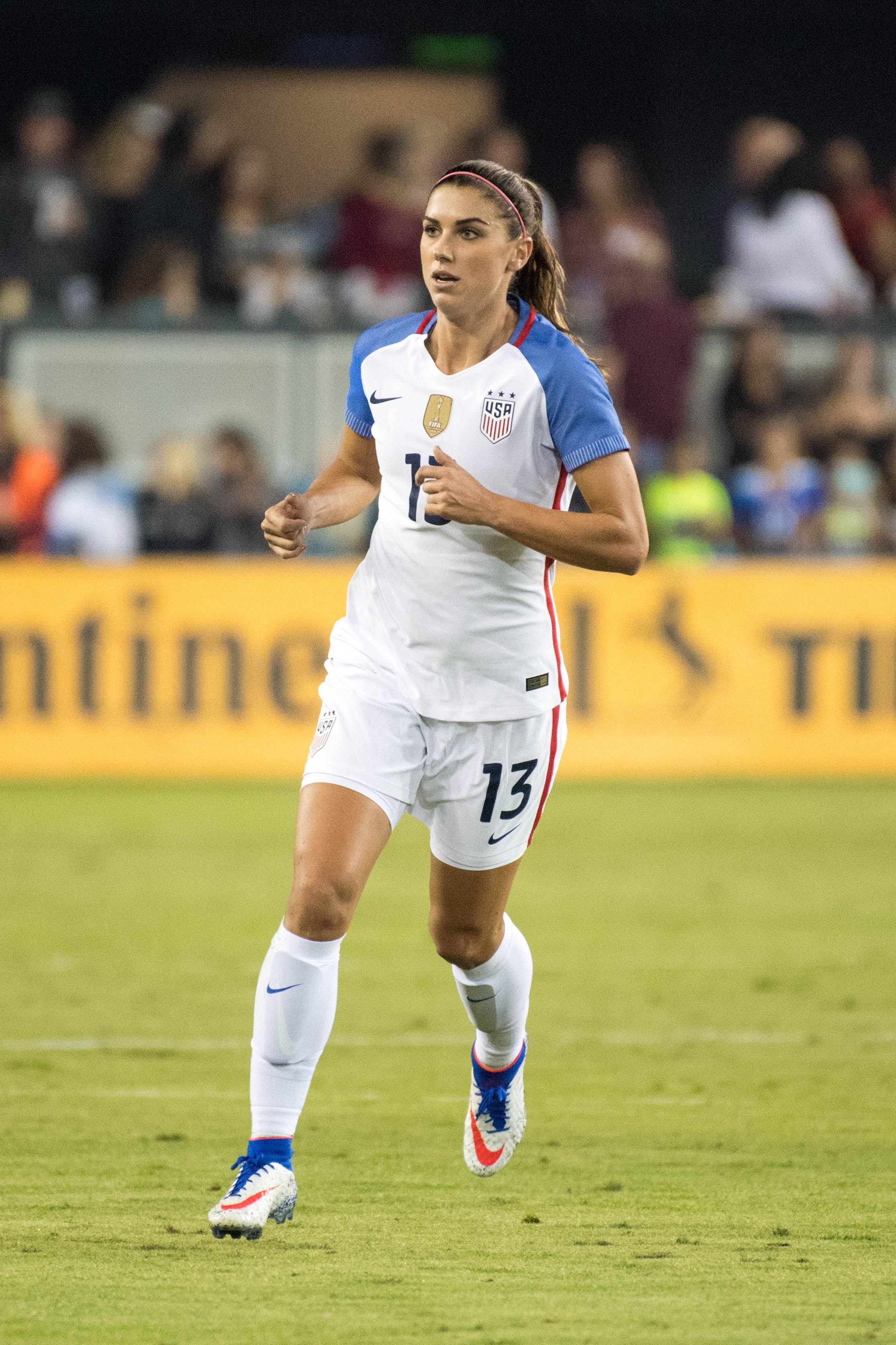 Alex Morgan refuses to rule out USWNT strike, says it's 'necessary for change sometimes'