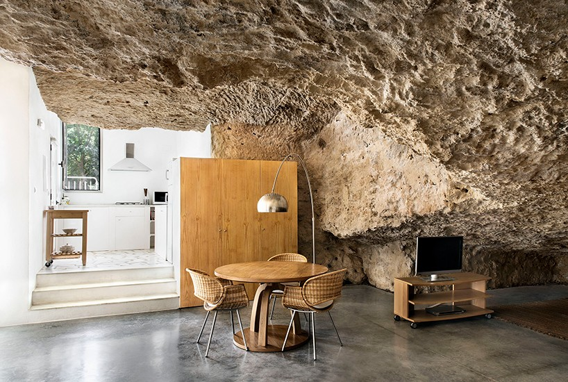 Rent a daring modern cave house in Spain