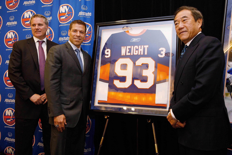 New York Islanders Captain Doug Weight Press Conference