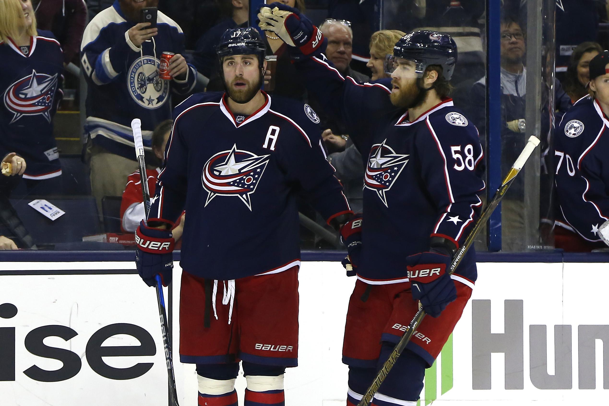 NHL: Carolina Hurricanes at Columbus Blue Jackets