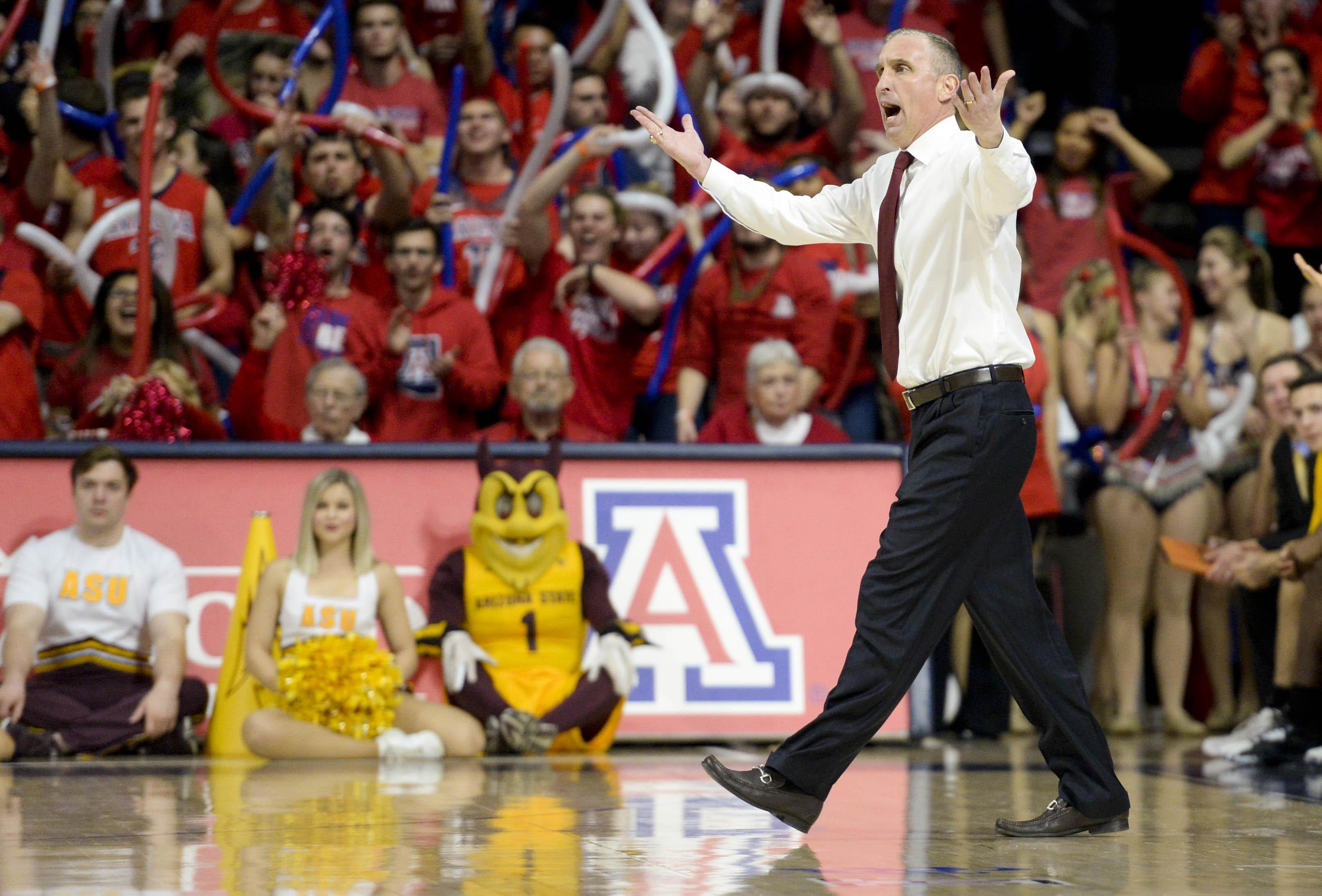 NCAA Basketball: Arizona State at Arizona