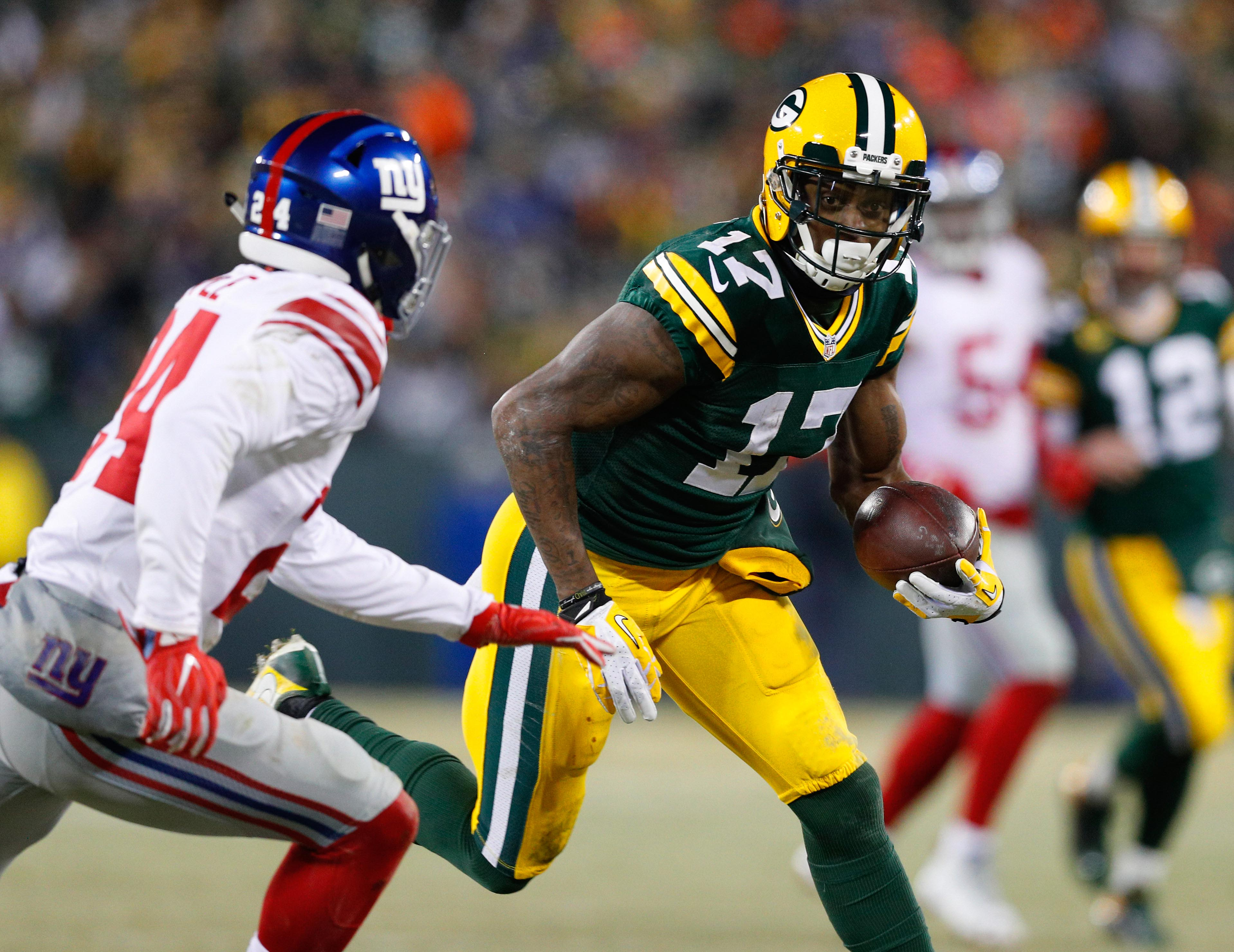 NFL: NFC Wild Card-New York Giants at Green Bay Packers