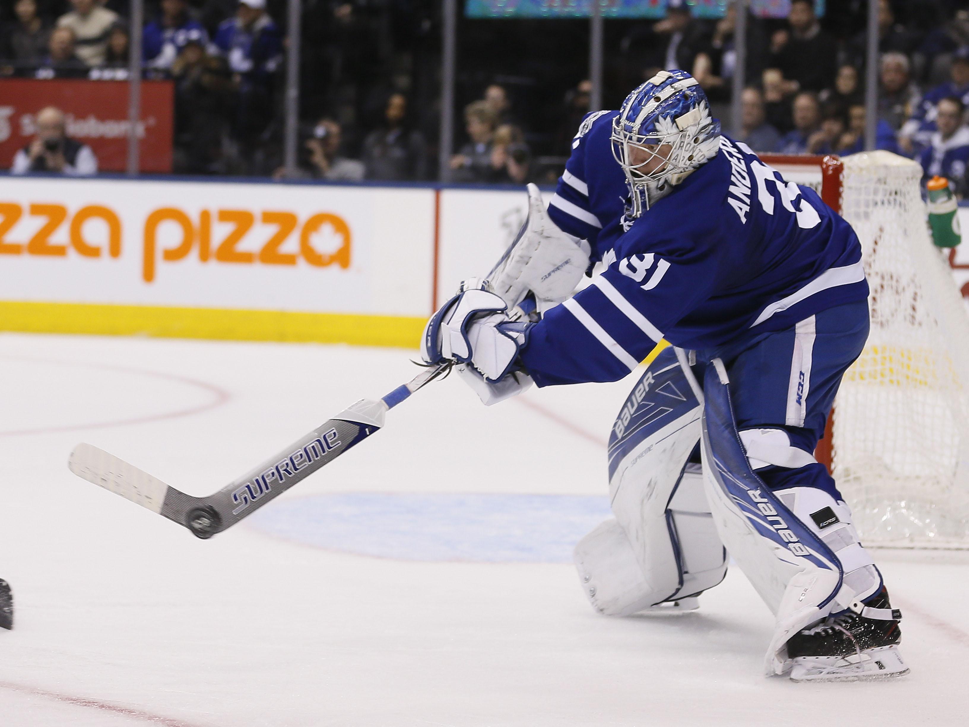 NHL: Buffalo Sabres at Toronto Maple Leafs