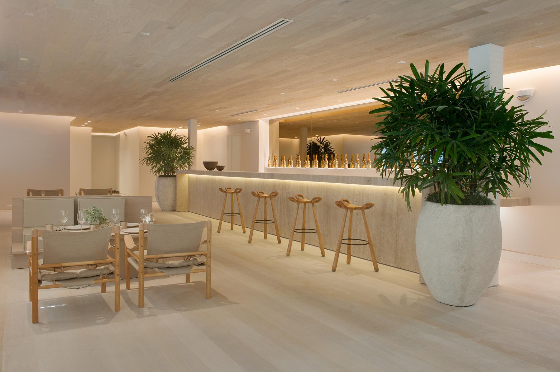 Wonderful Peek Inside The Chad Oppenheim Designed Forte Dei Marmi In Miami Beach