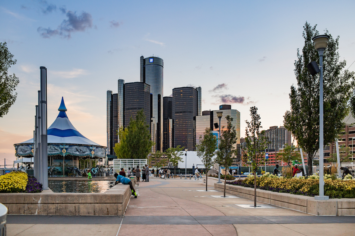 Urban Beach Could Bring New Al Fresco Dining Options to Detroit's Riverfront