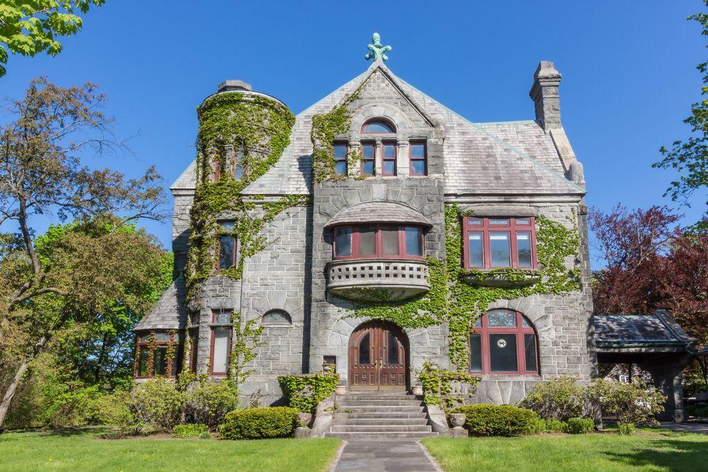 Mini castles for sale: 3 Romanesque Revival houses to buy