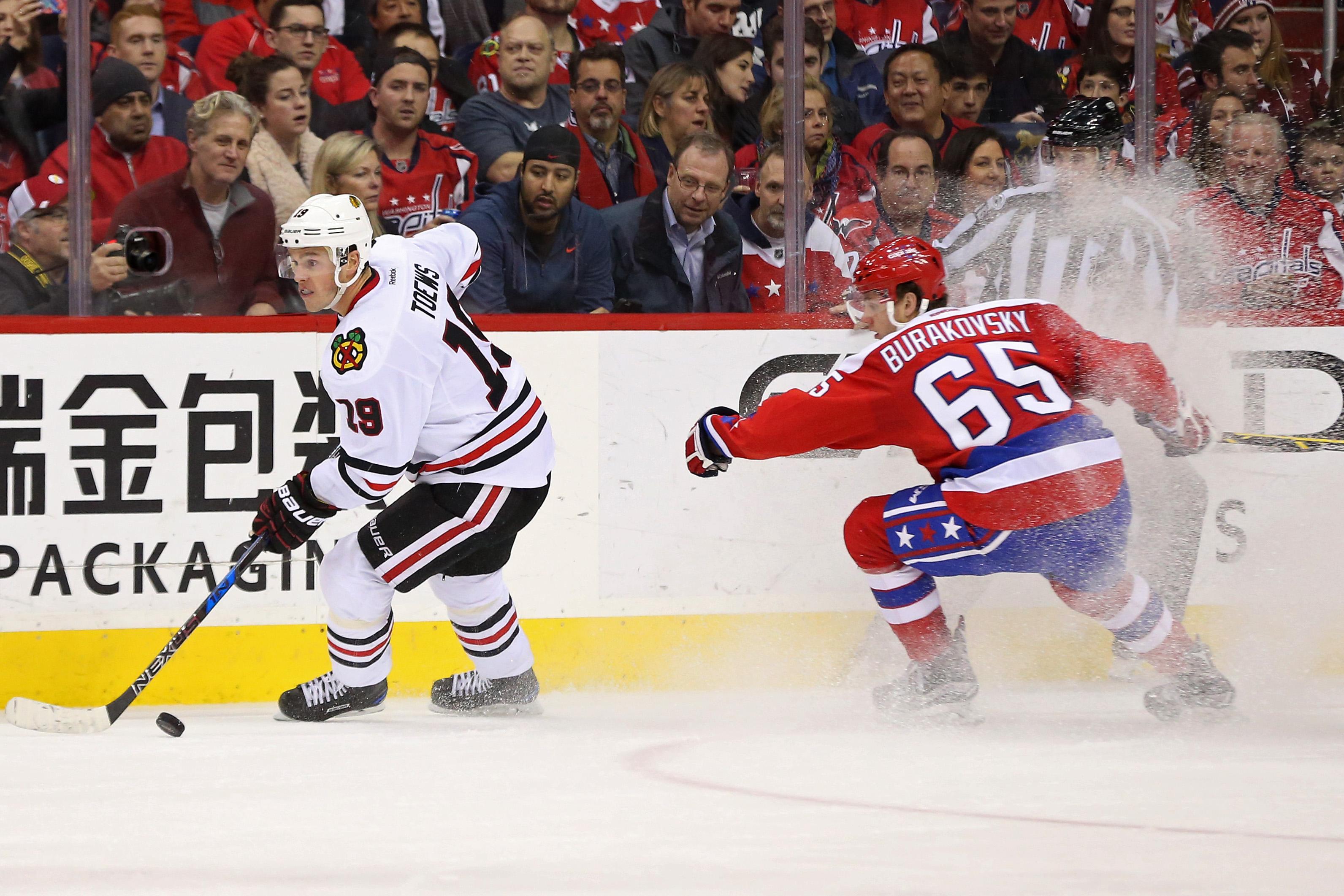 NHL: Chicago Blackhawks at Washington Capitals