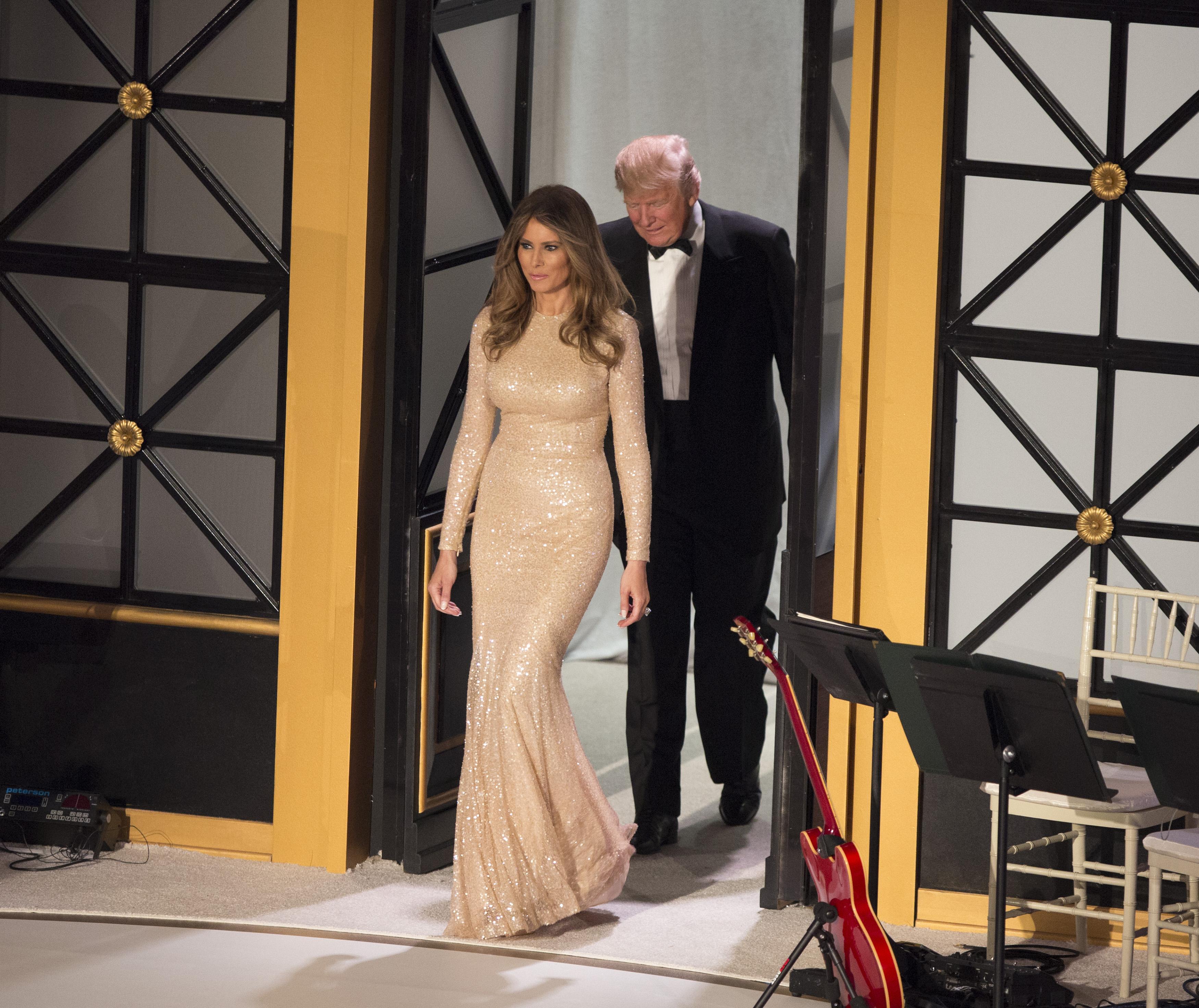 Melania Trump's Inauguration Fashion Statements Are Decidedly American