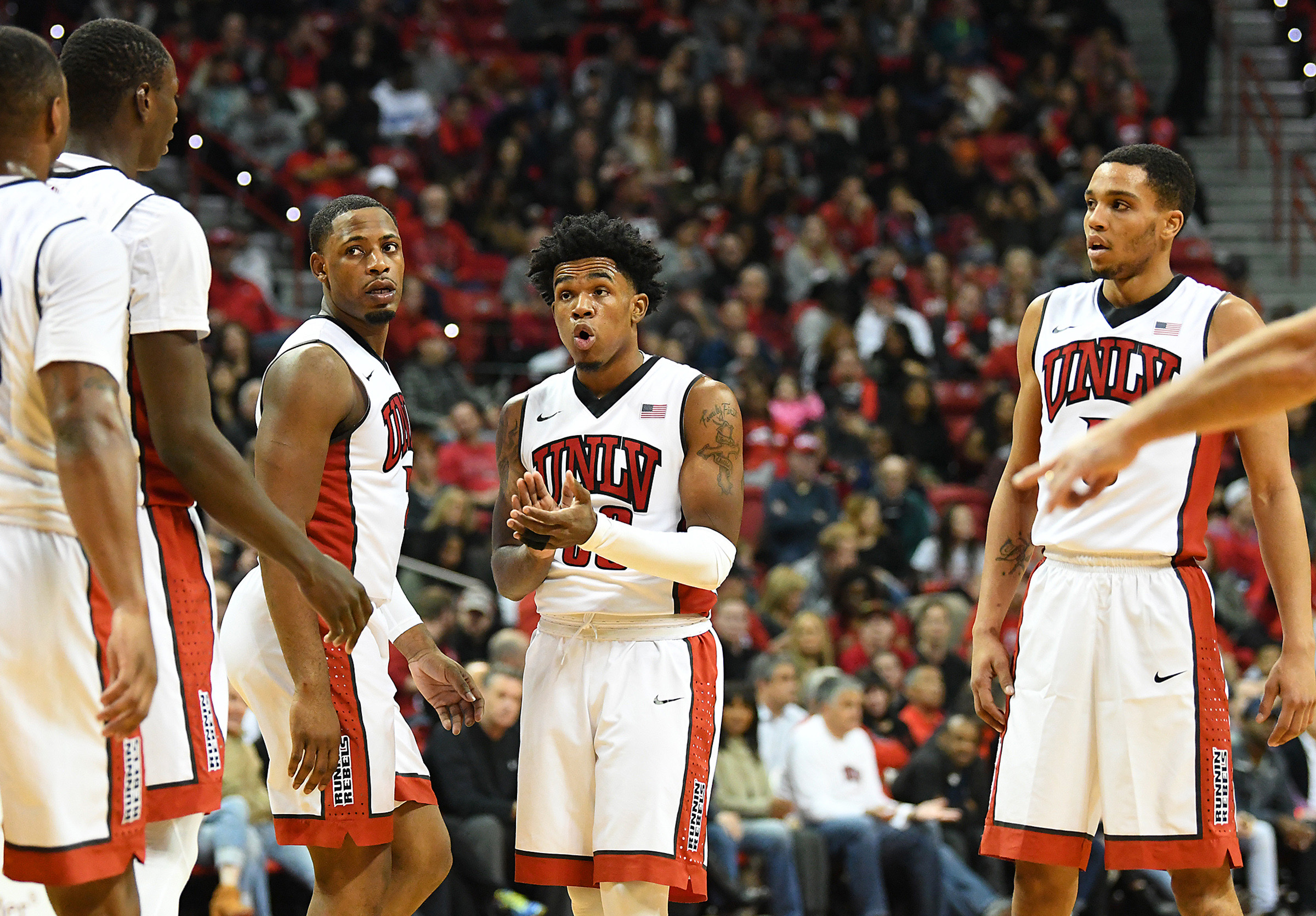 NCAA Basketball: San Diego State at UNLV