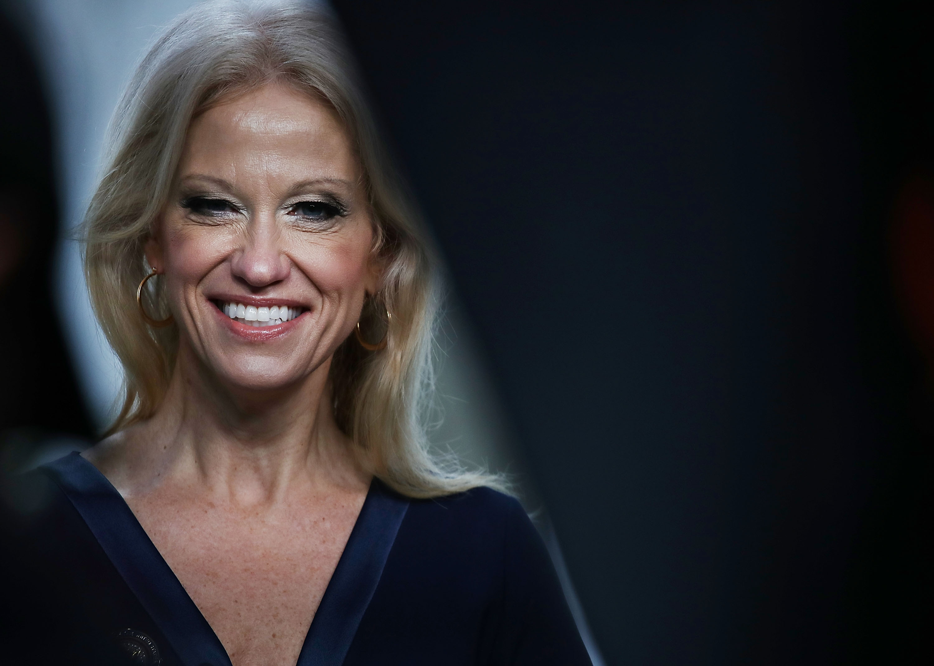 Kellyanne Conway finally admits the audit was just an excuse