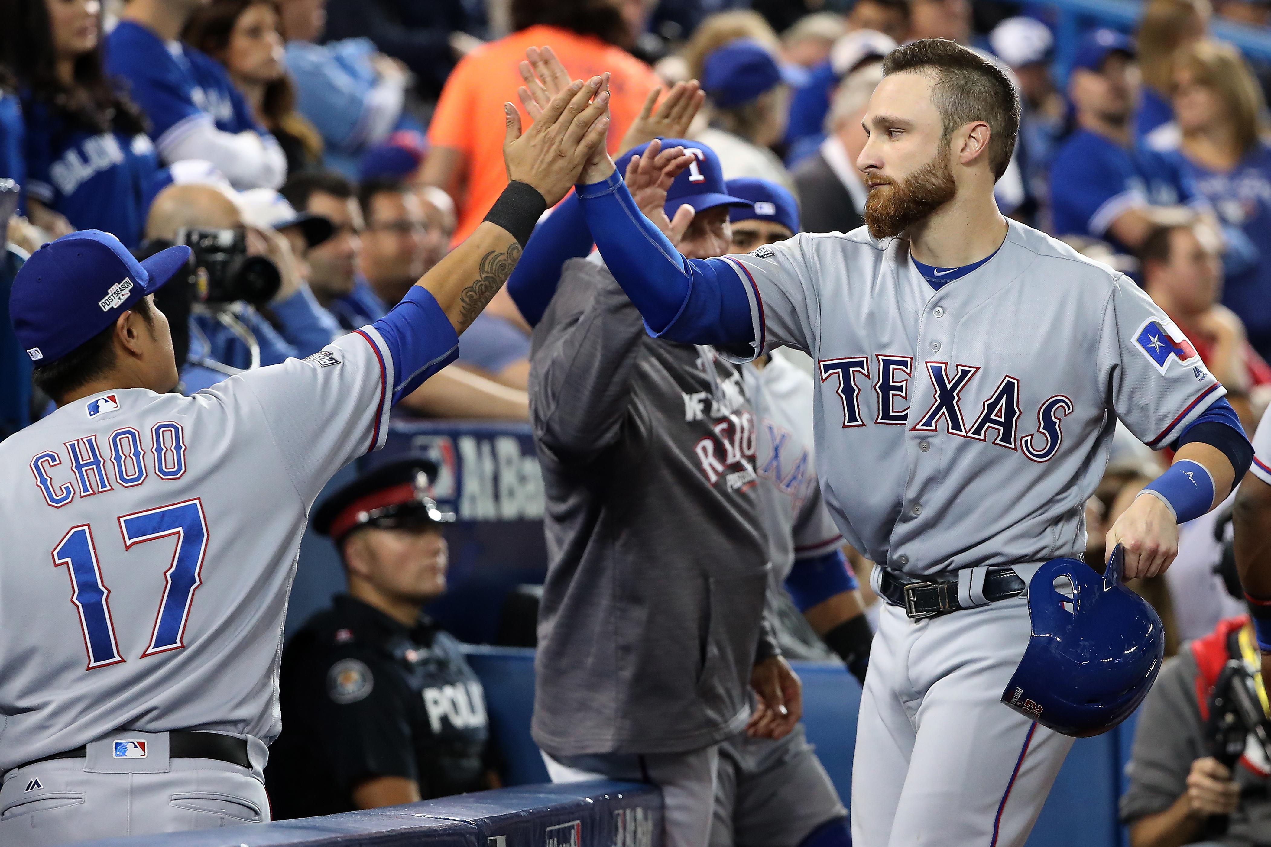 Division Series - Texas Rangers v Toronto Blue Jays - Game Three
