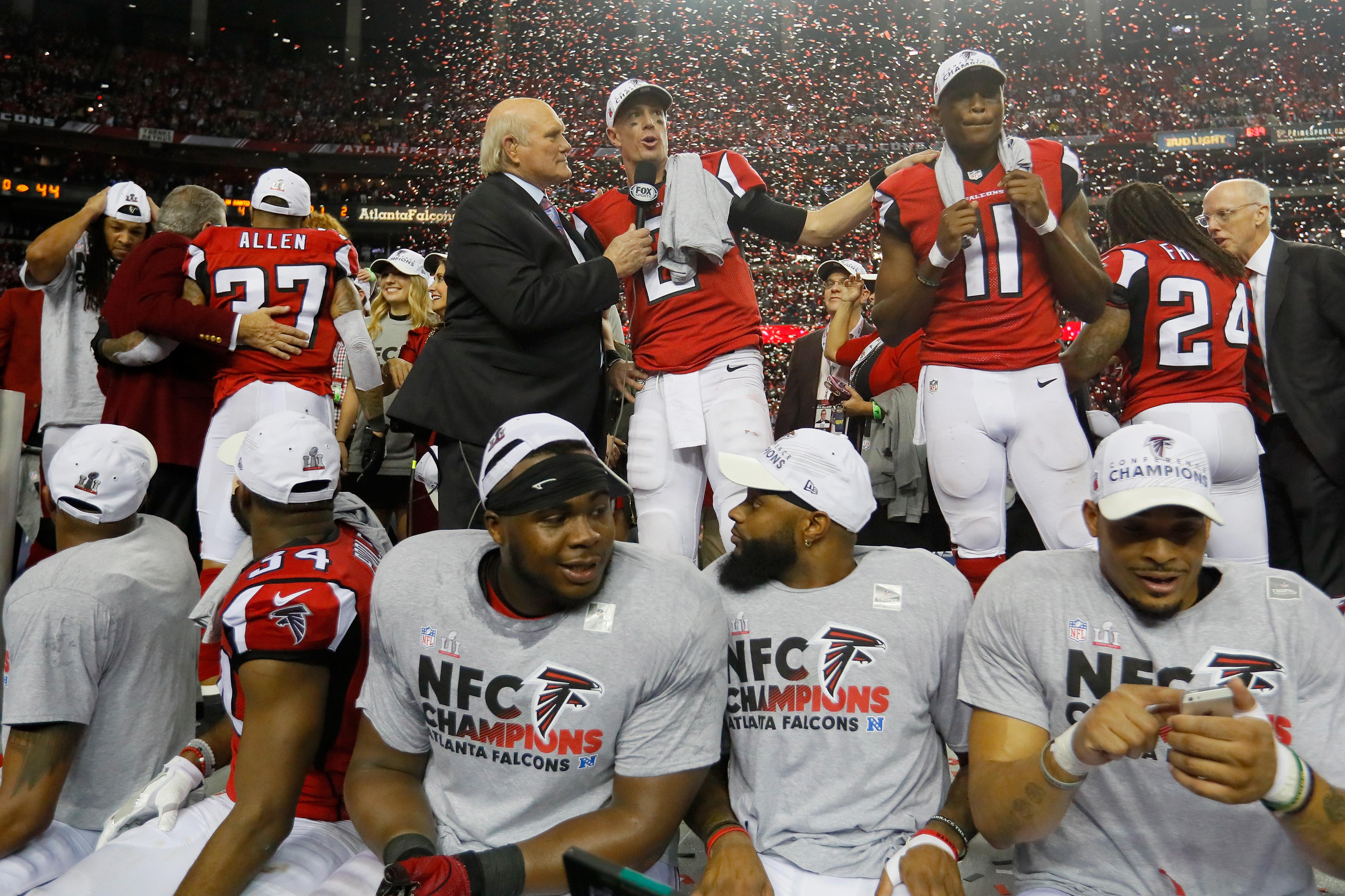 NFC Championship - Green Bay Packers v Atlanta Falcons