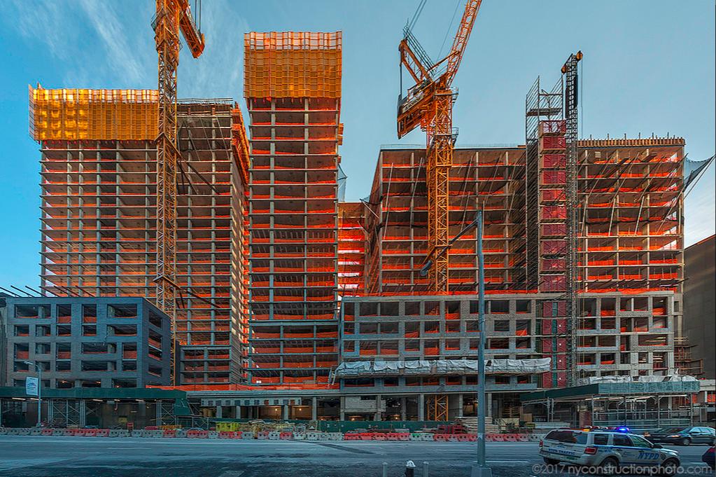 TF Cornerstone's enormous Midtown West rental makes progress