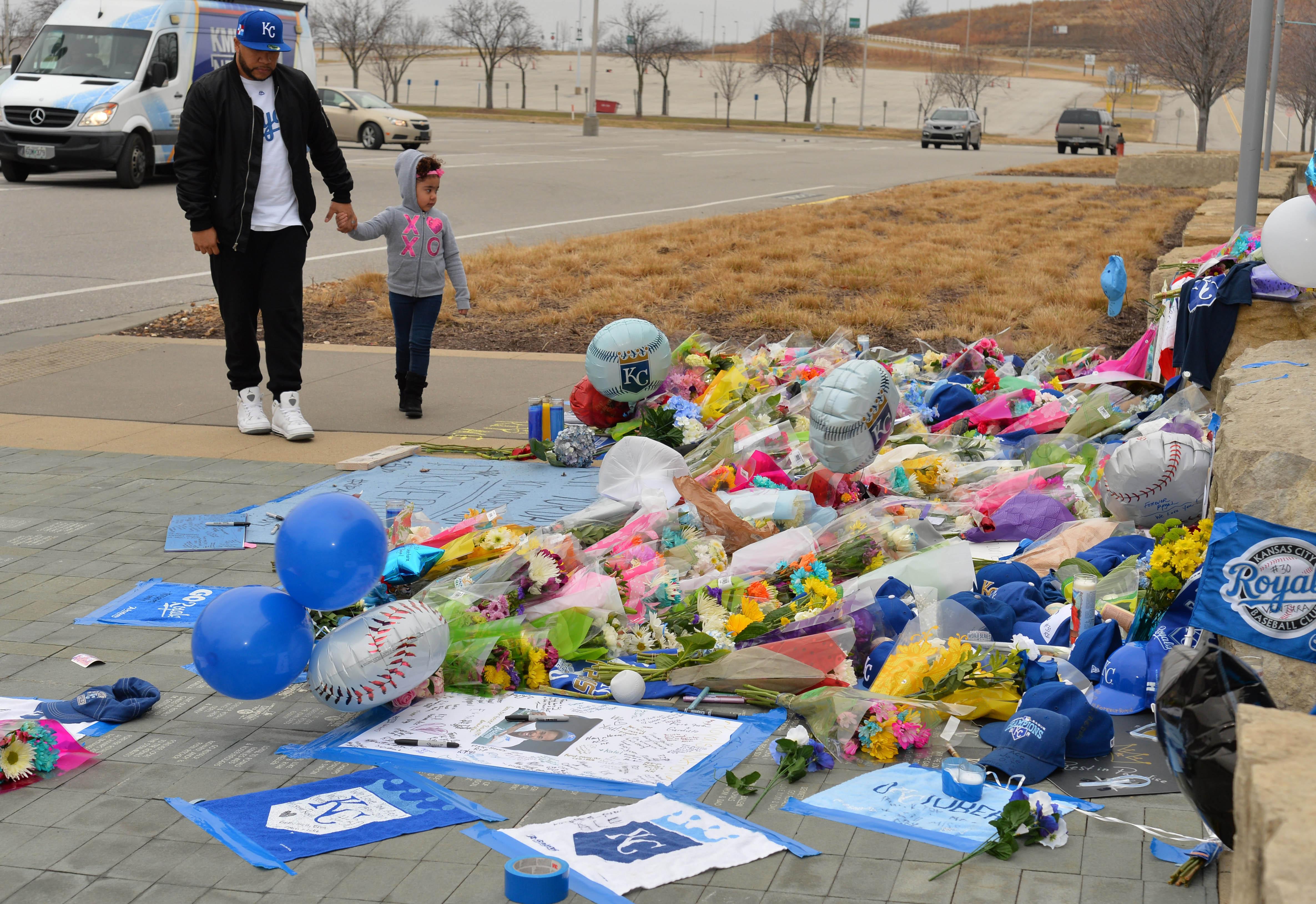 MLB: Kansas City Royals-Yordano Ventura Tribute