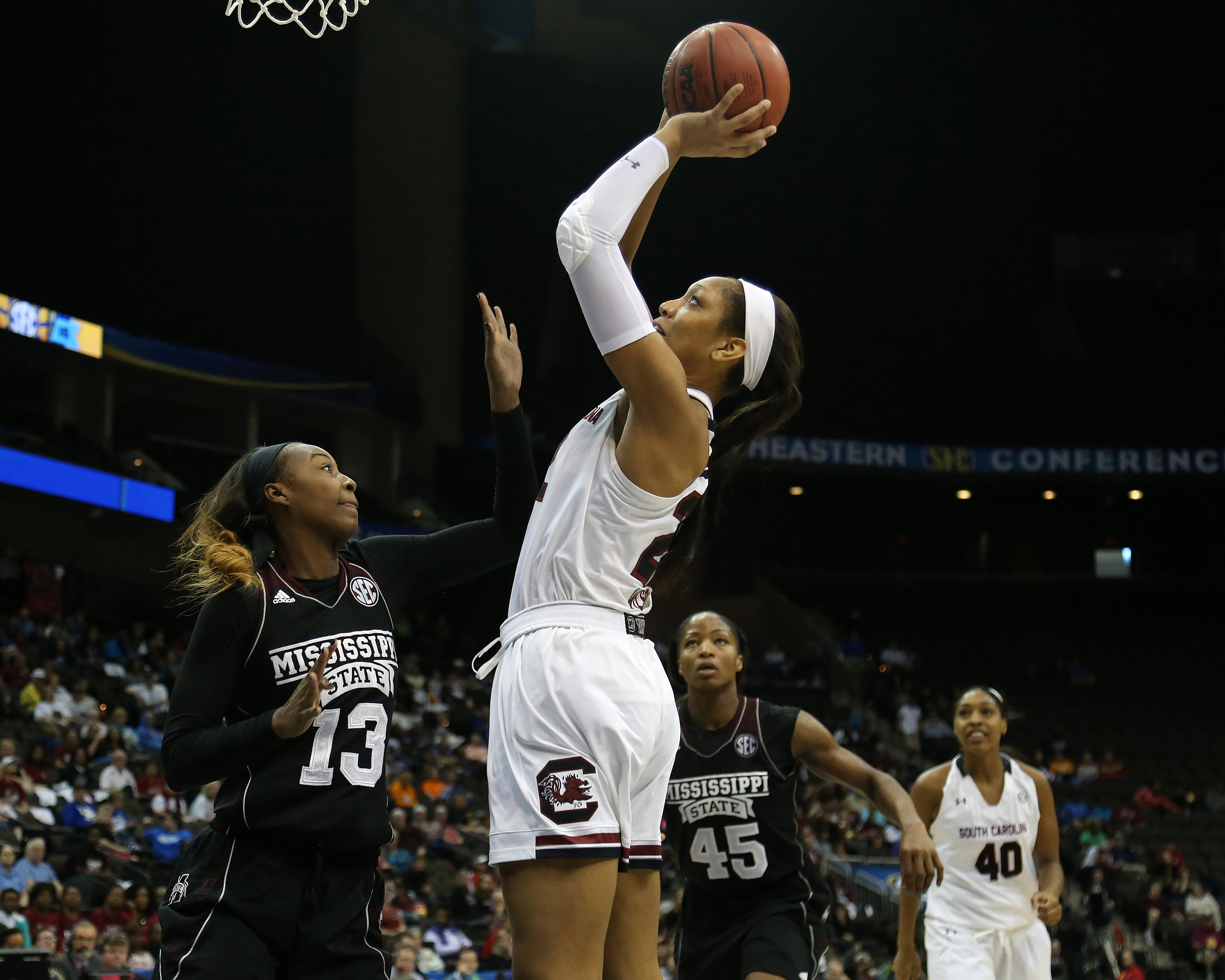 NCAA Womens Basketball: SEC Basketball Tournament - South Carolina vs Mississippi State