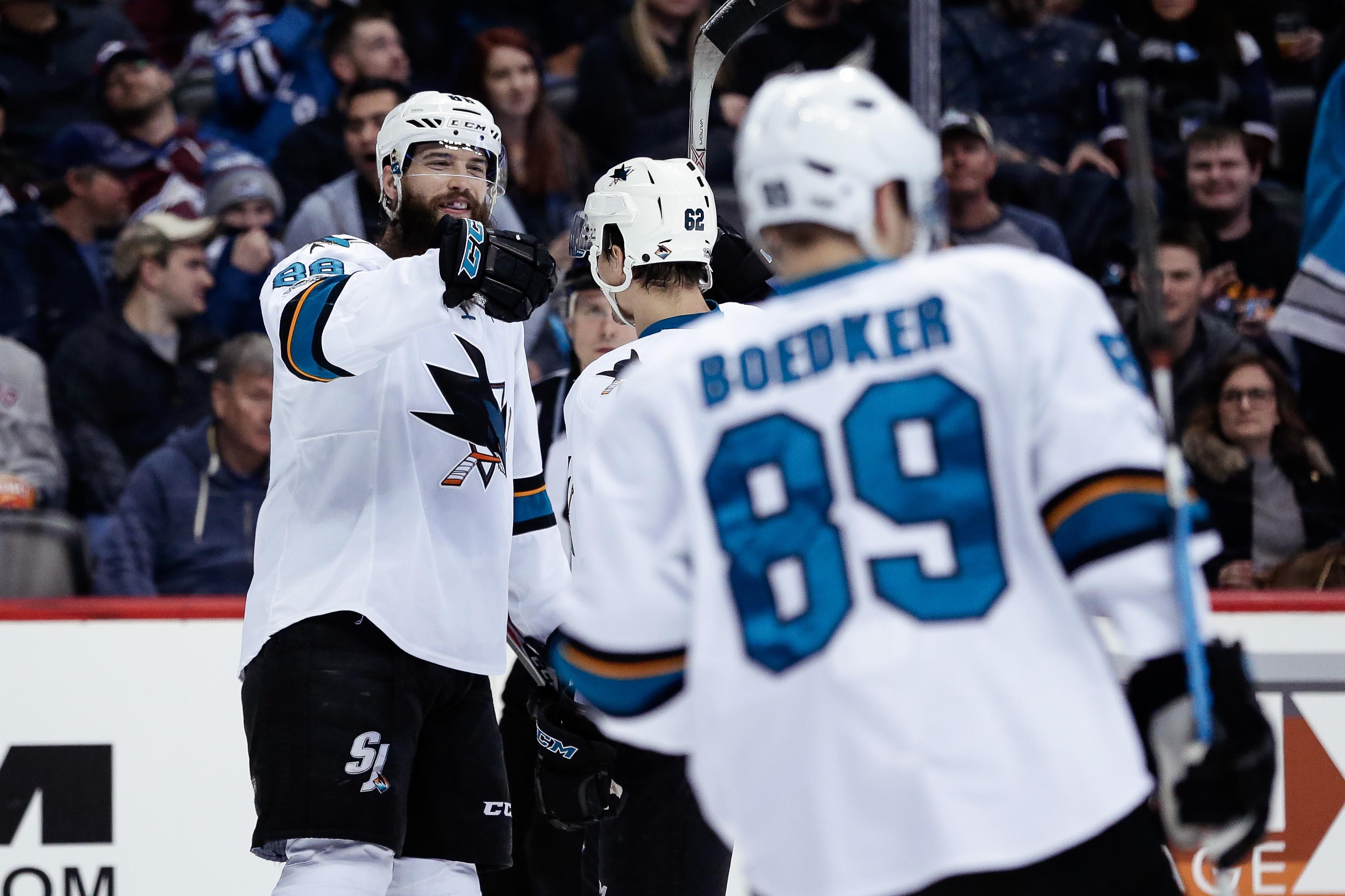 NHL: San Jose Sharks at Colorado Avalanche