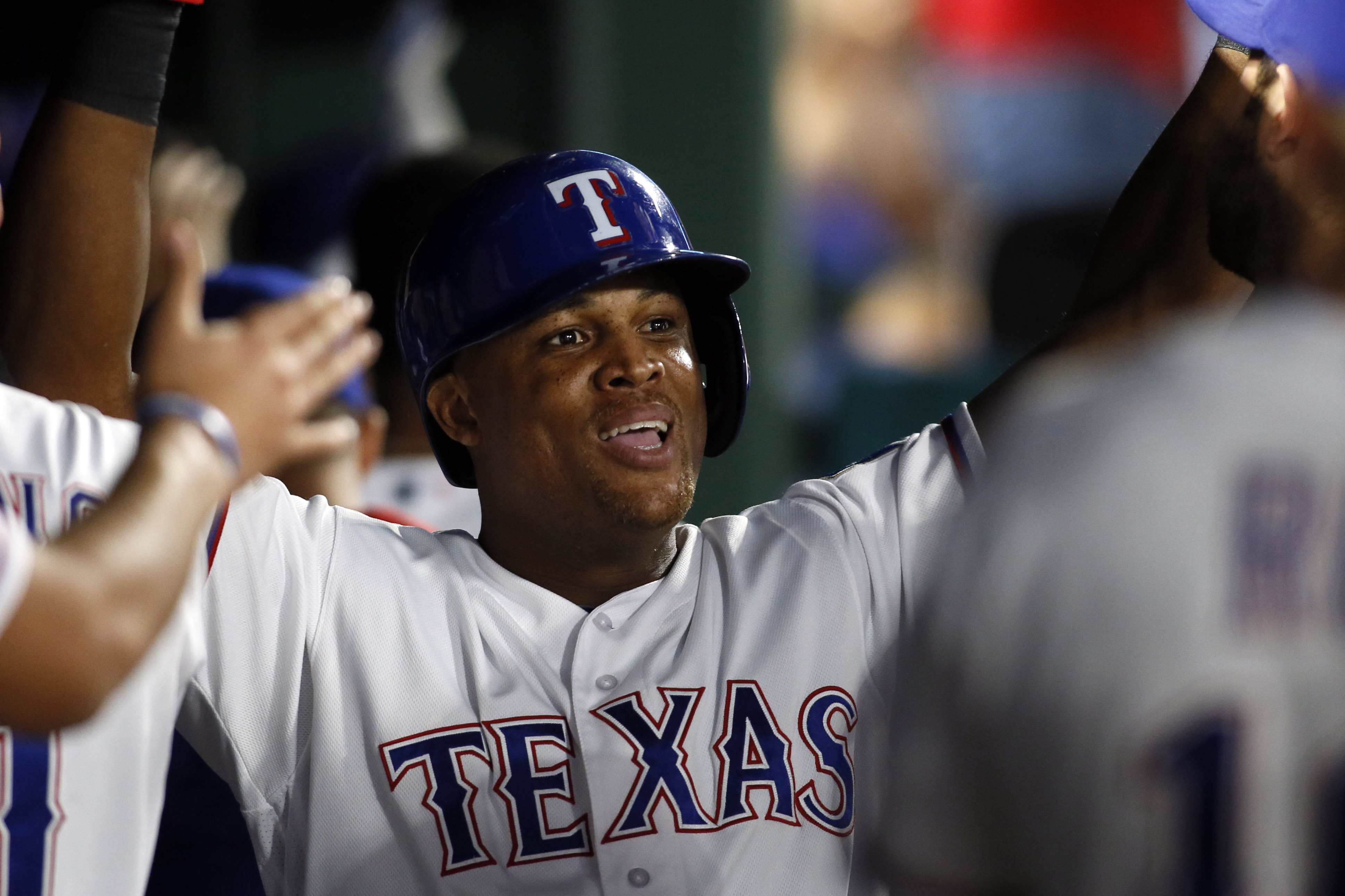 MLB: Milwaukee Brewers at Texas Rangers