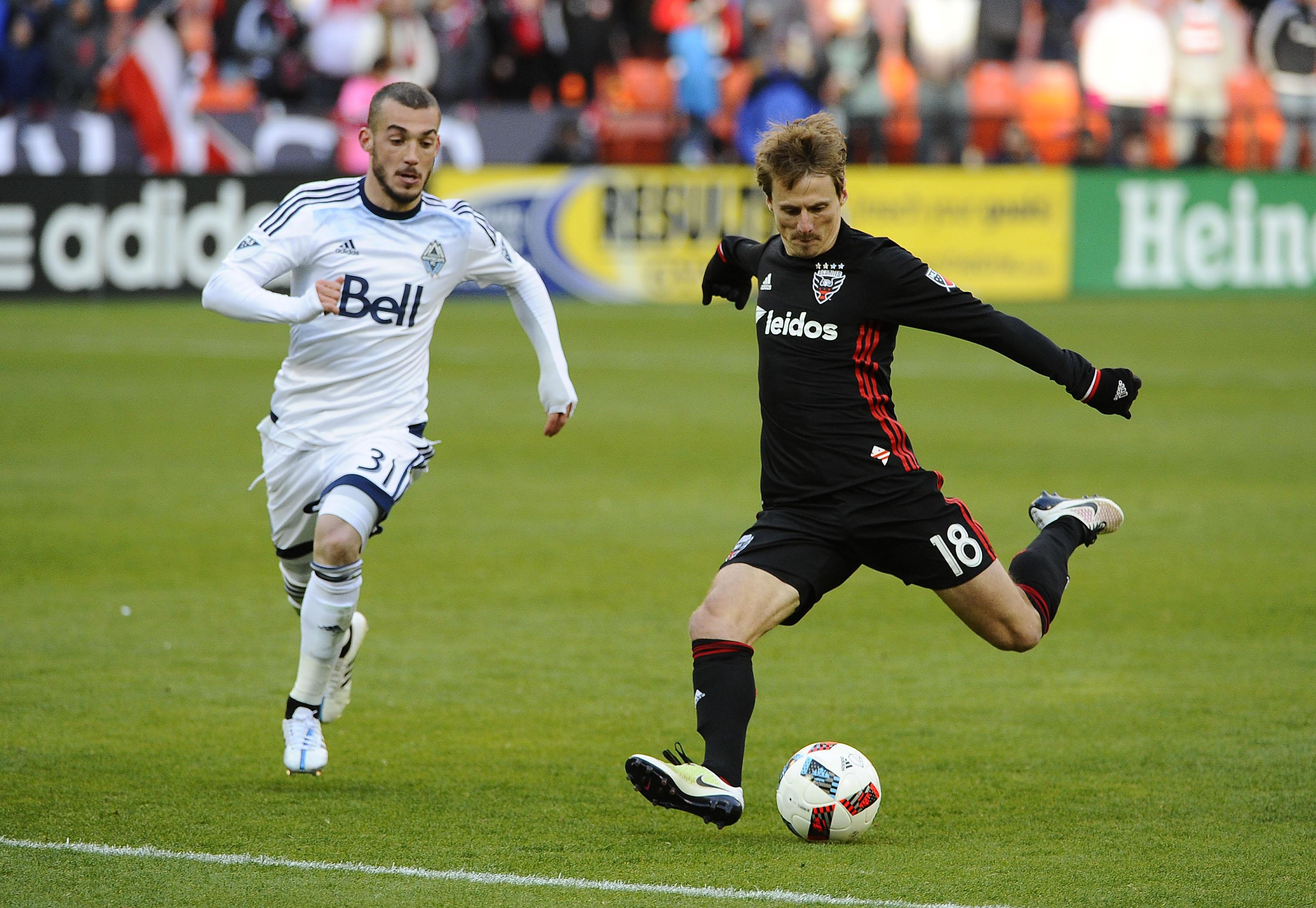 MLS: Vancouver Whitecaps FC at D.C. United