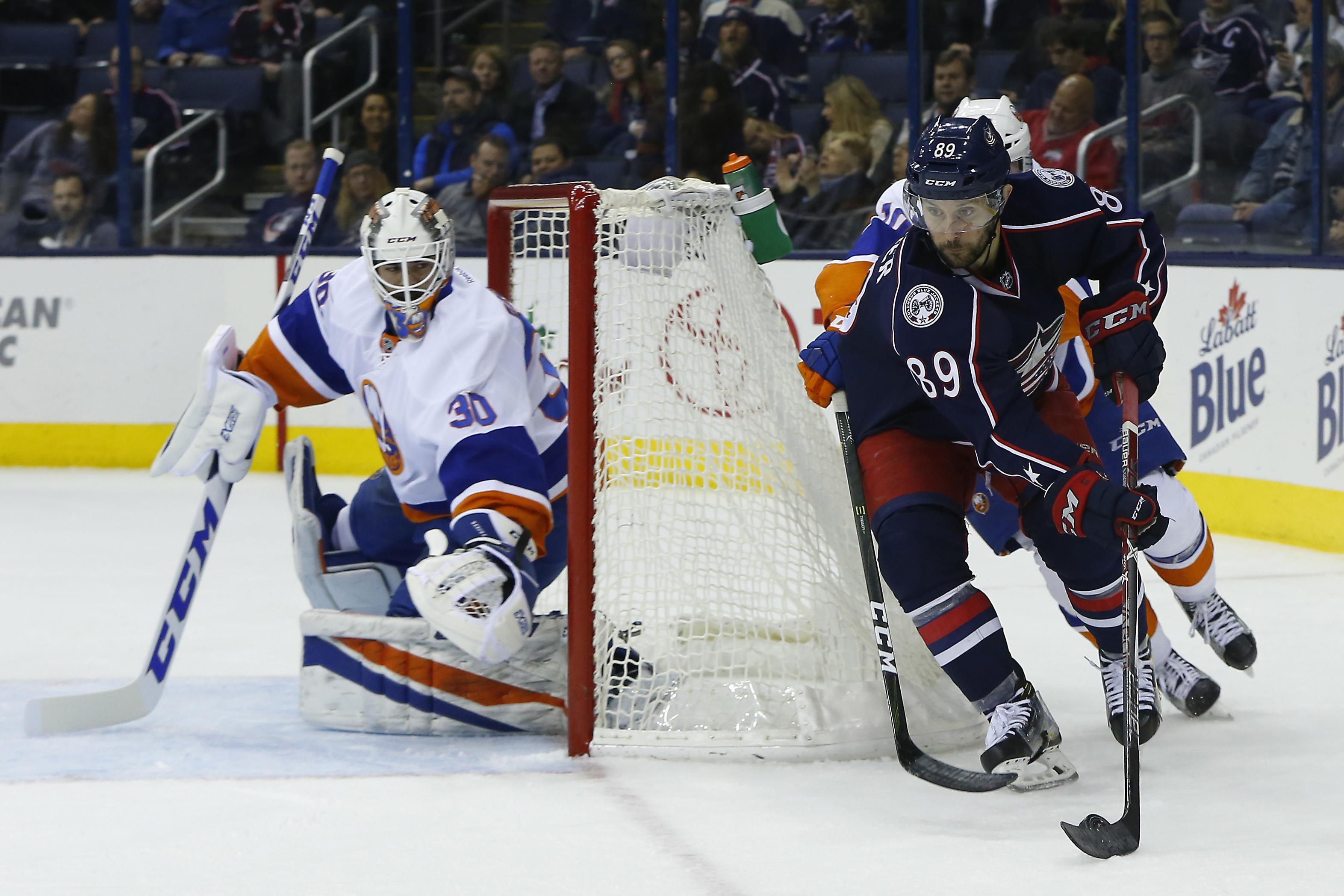 NHL: New York Islanders at Columbus Blue Jackets