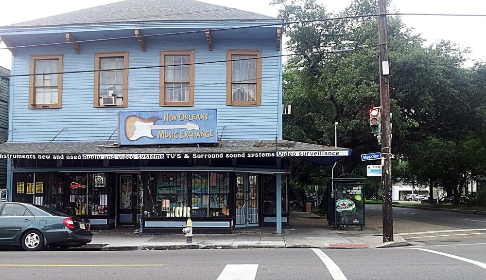 nola music exchange blue building