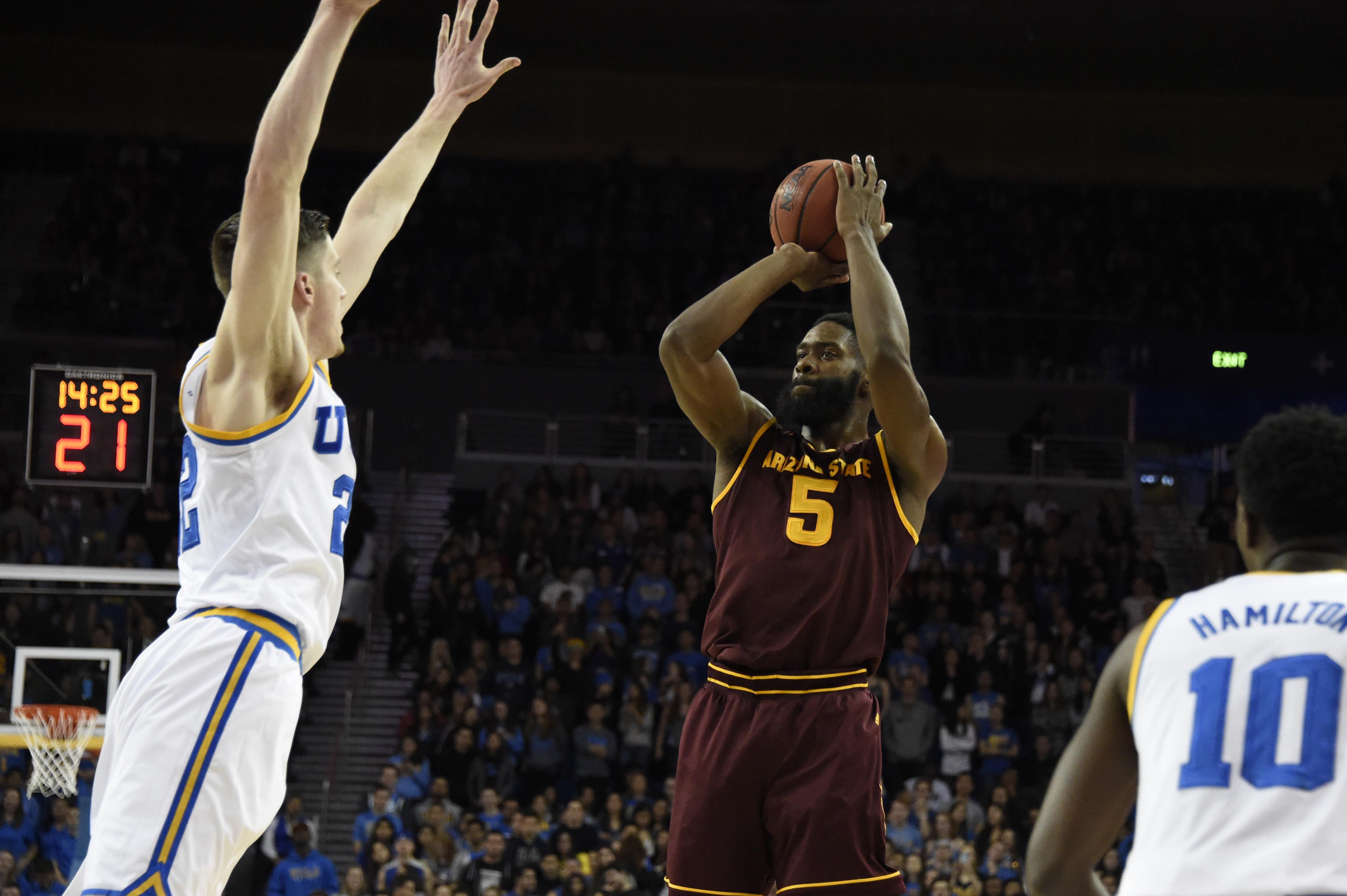 NCAA Basketball: Arizona State at UCLA