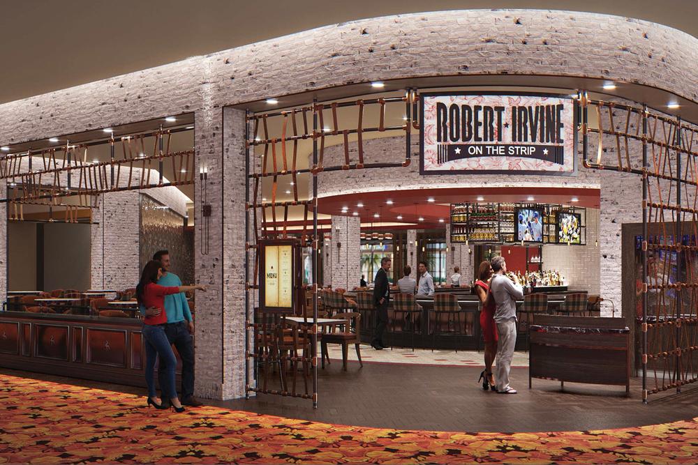 Robert Irvine Tropicana restaurant rendering