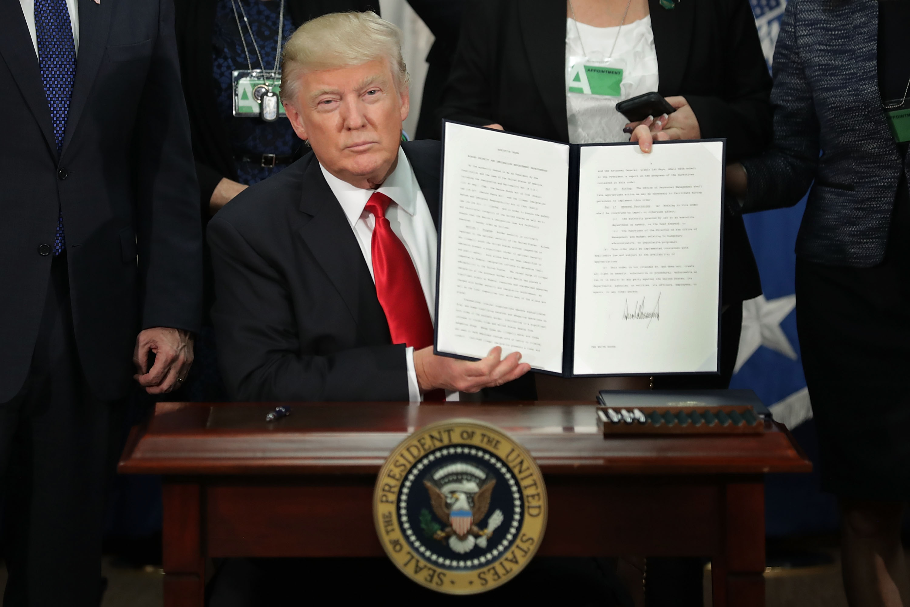Trump meant what he said, and his new executive orders prove it