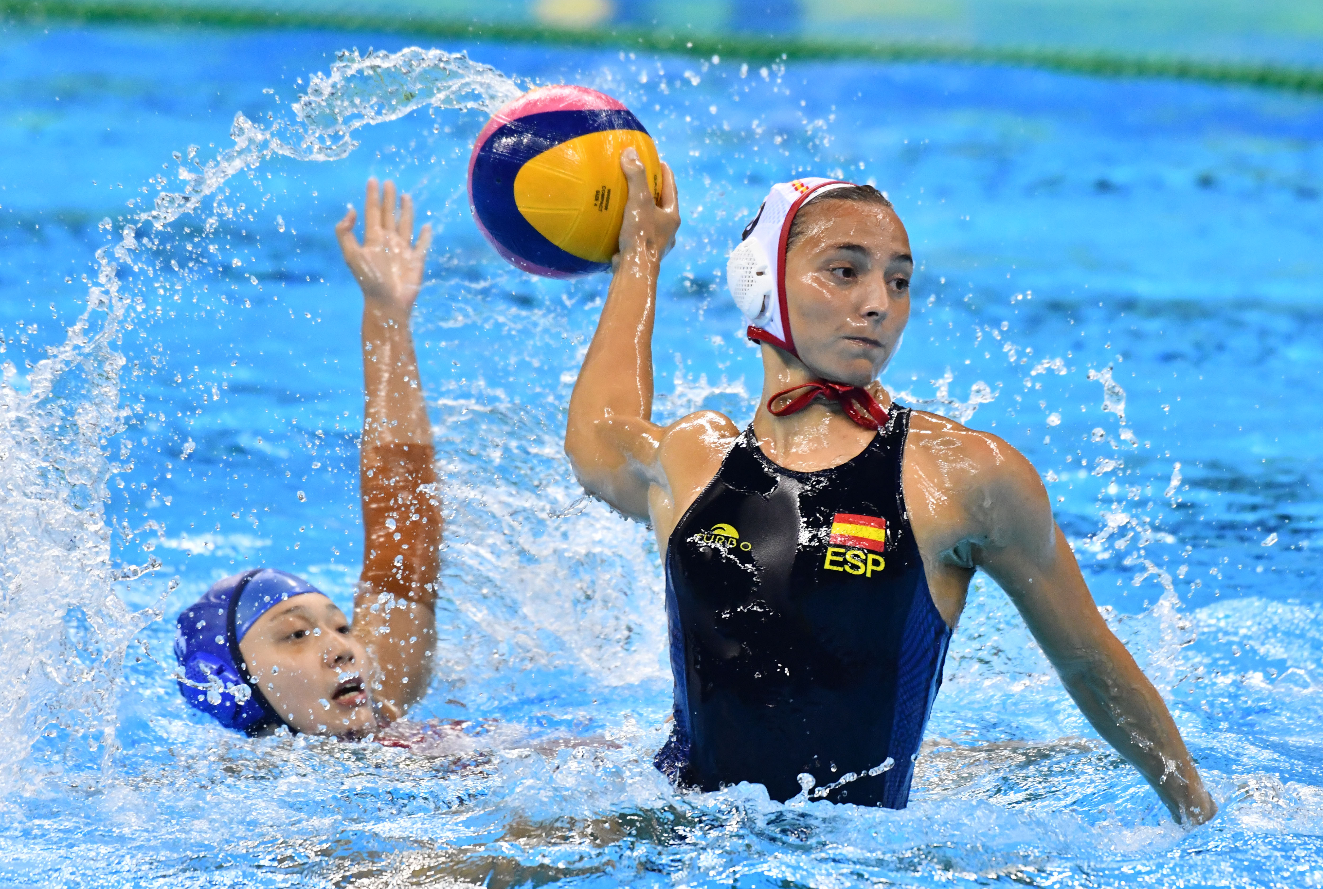 Olympics: Water Polo-Classification 5th-8th Place-ESP vs CHN