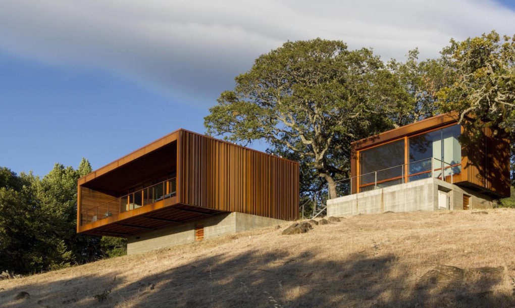 Prefab curbed for Minimalist house california