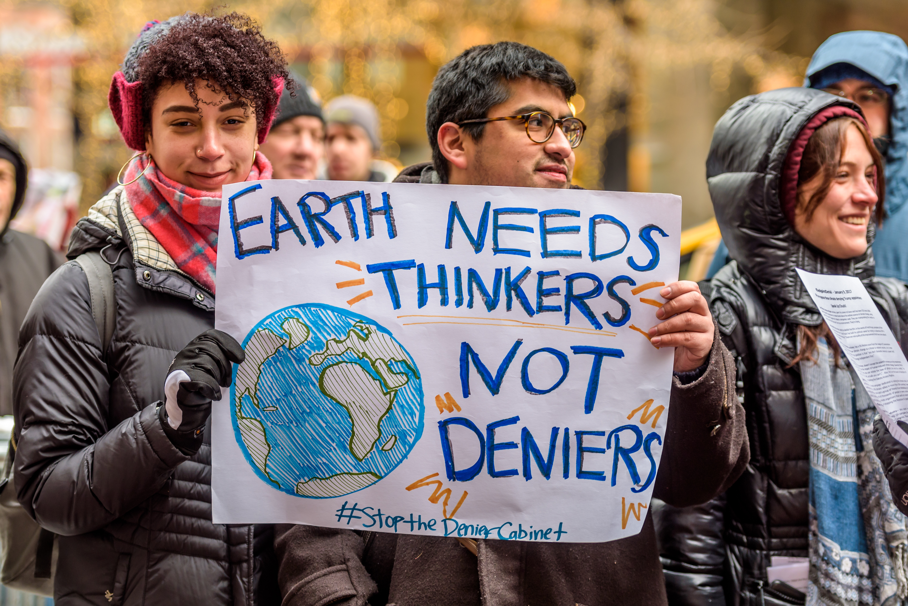 Scientists are quickly mobilizing to protest Trump
