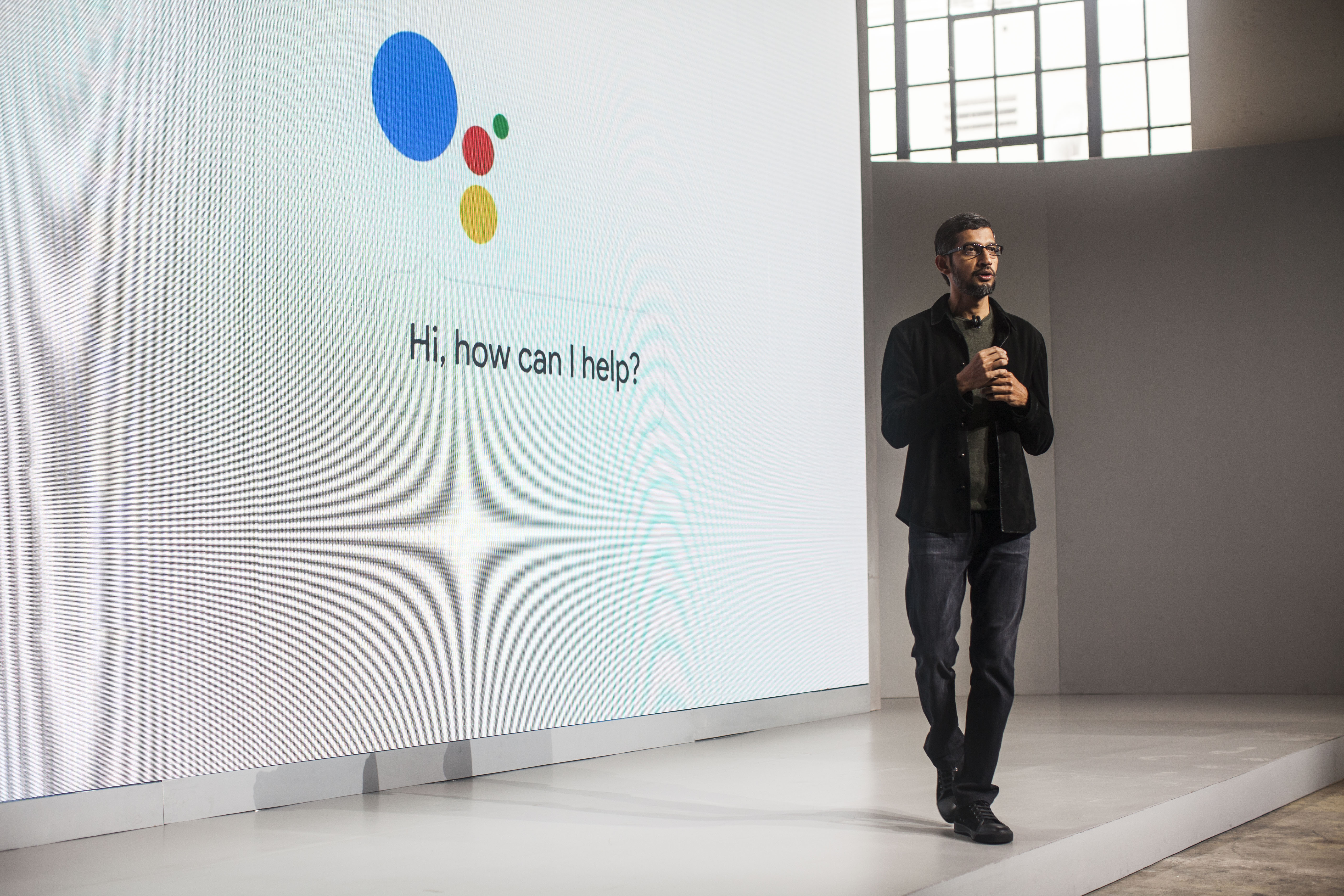 Pichai Sundararajan, known as Sundar Pichai, CEO of Google Inc. speaks during an event to introduce Google Pixel phone and other Google products on October 4, 2016 in San Francisco, California.