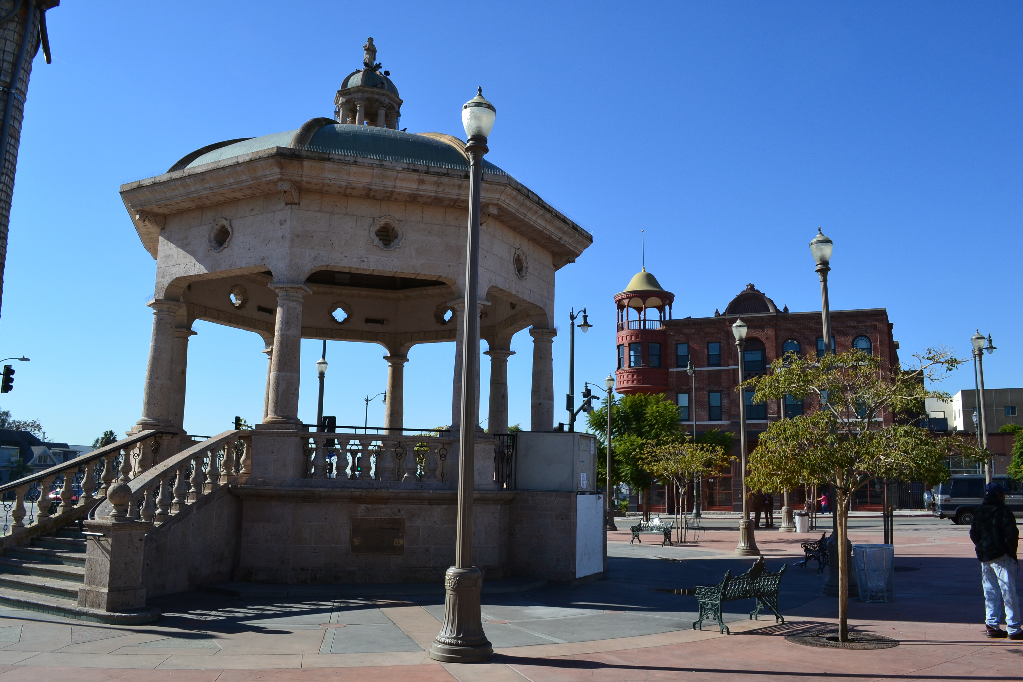 View of Mariachi Plaza