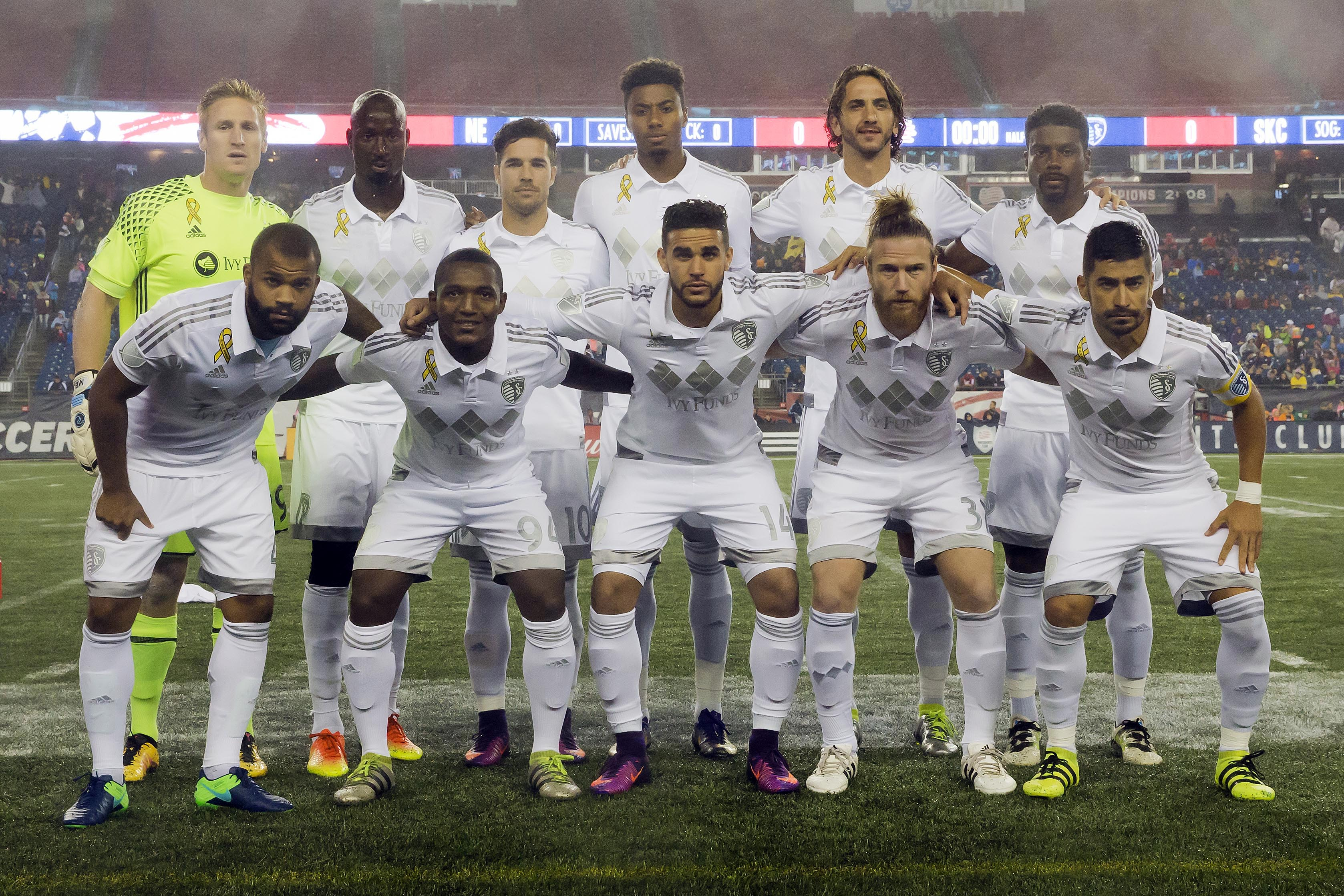 MLS: Sporting KC at New England Revolution