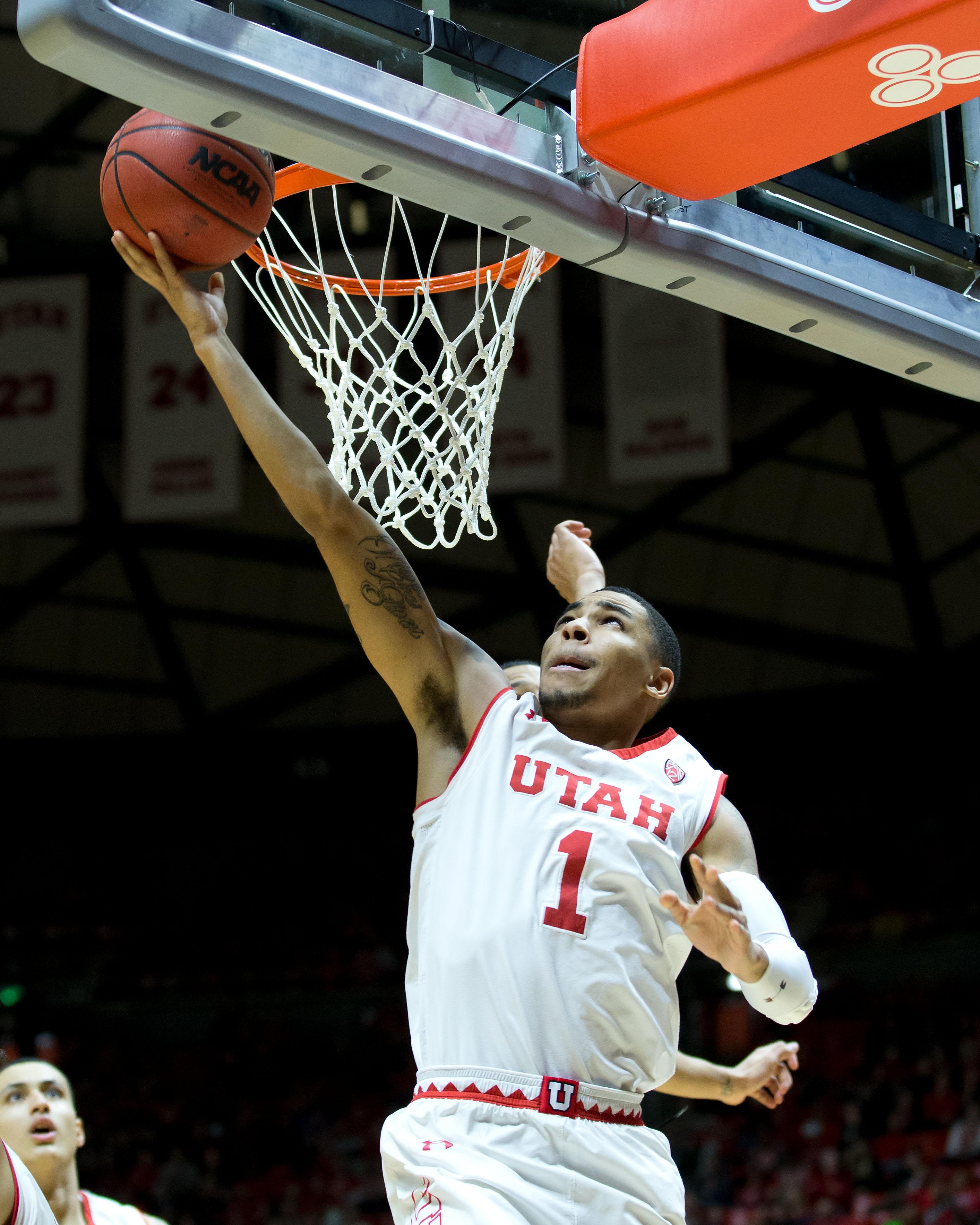 NCAA Basketball: Oregon State at Utah