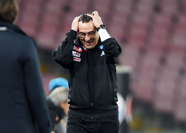 SSC Napoli v US Citta di Palermo - Serie A