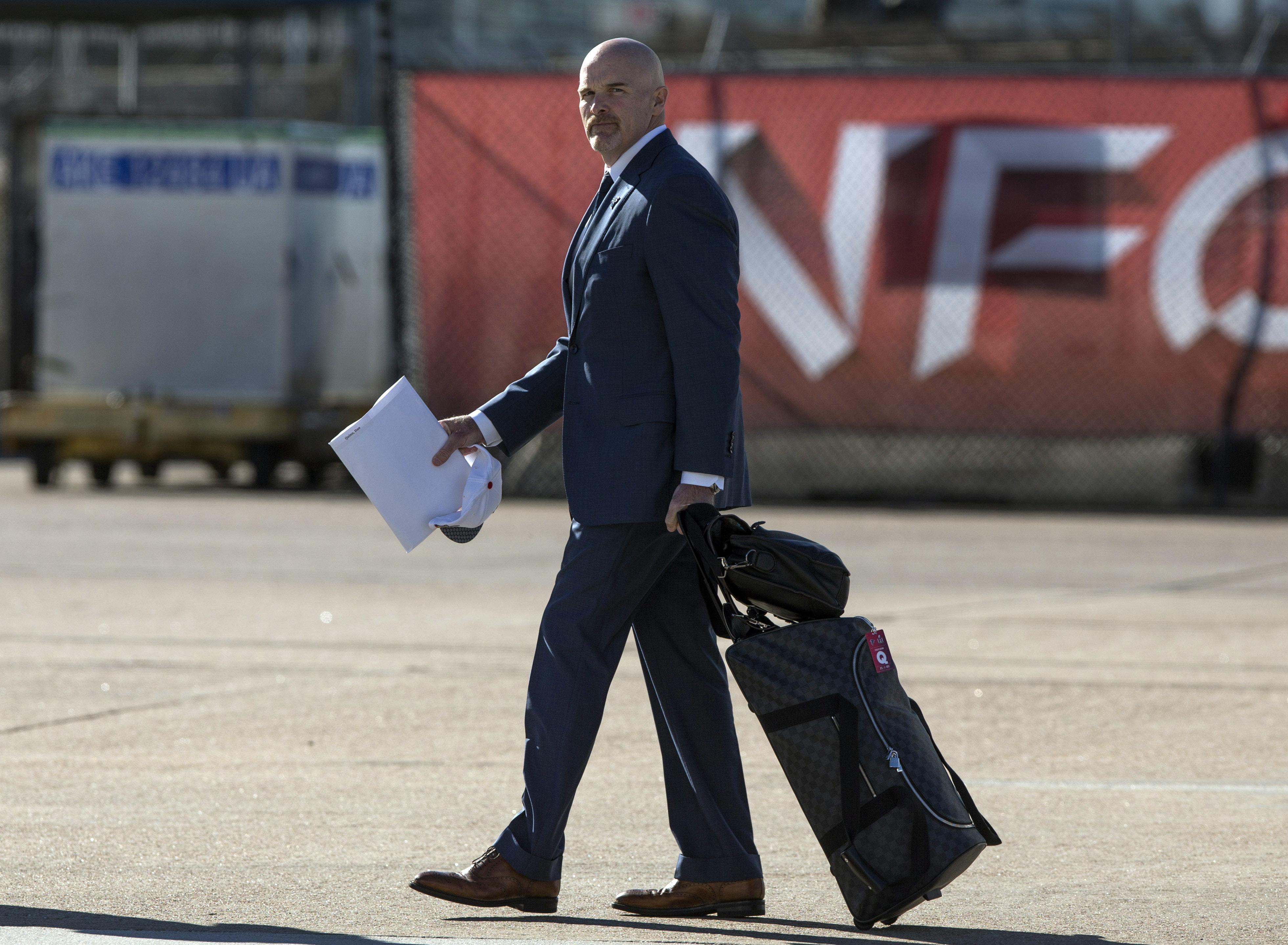 NFL: Super Bowl LI-Atlanta Falcons Arrival