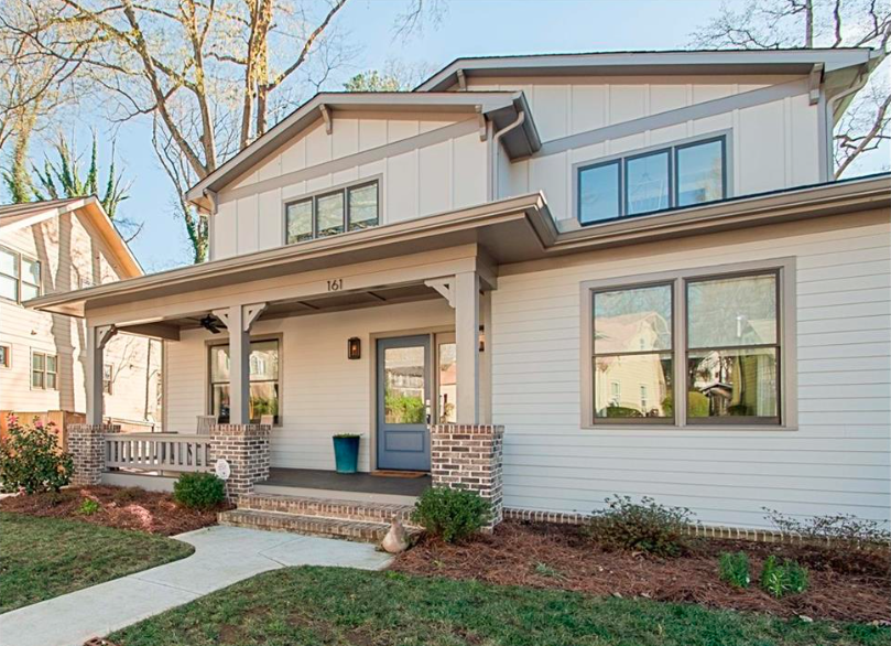 A five-bedroom Craftsman-style home in Oakhurst, Atlanta.