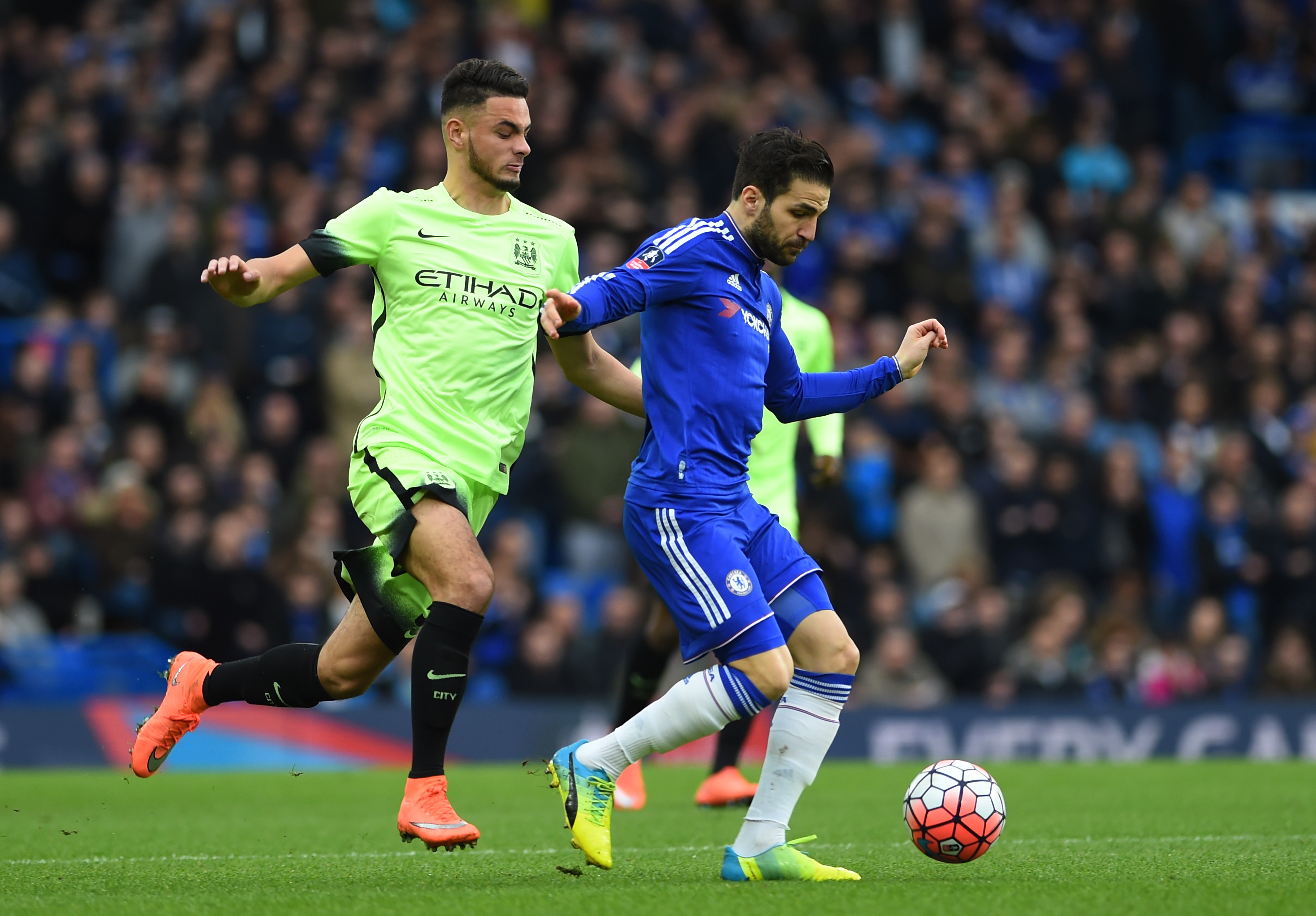 Chelsea v Manchester City - The Emirates FA Cup Fifth Round