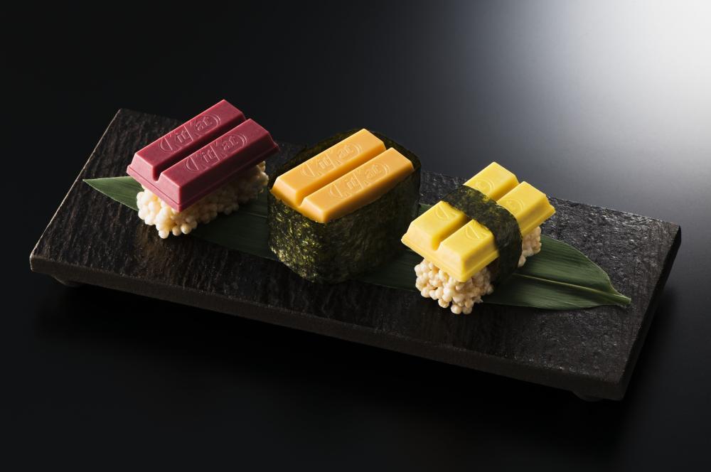 Kit Kat sushi bars