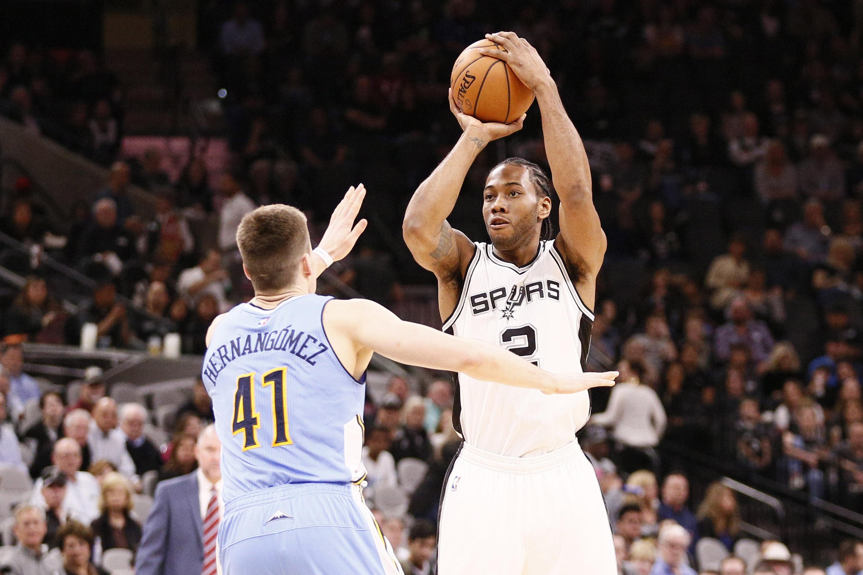 NBA: Denver Nuggets at San Antonio Spurs