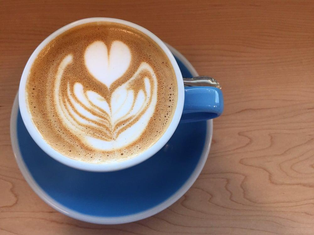 A coffee from Fleet Coffee