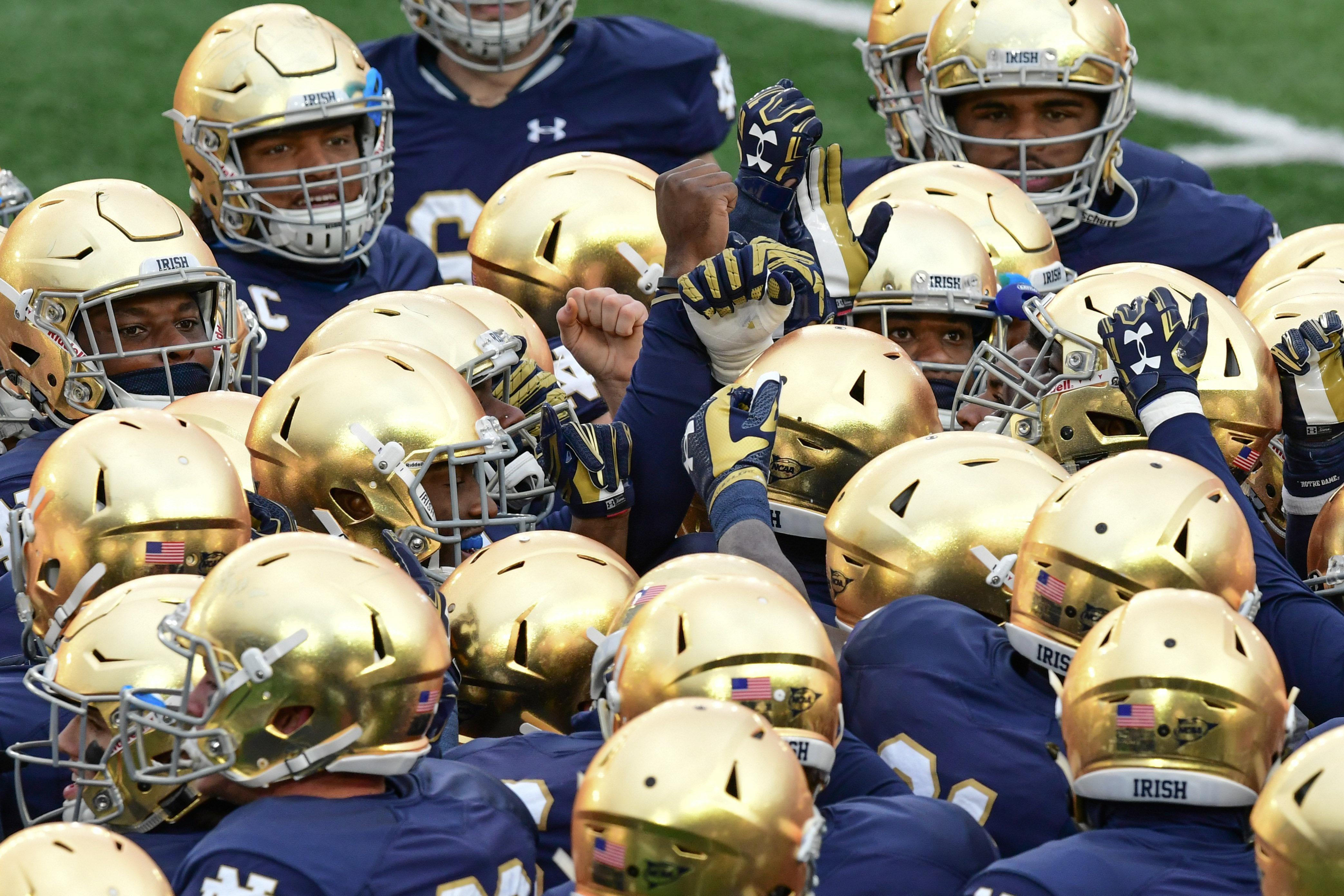 NCAA Football: Virginia Tech at Notre Dame