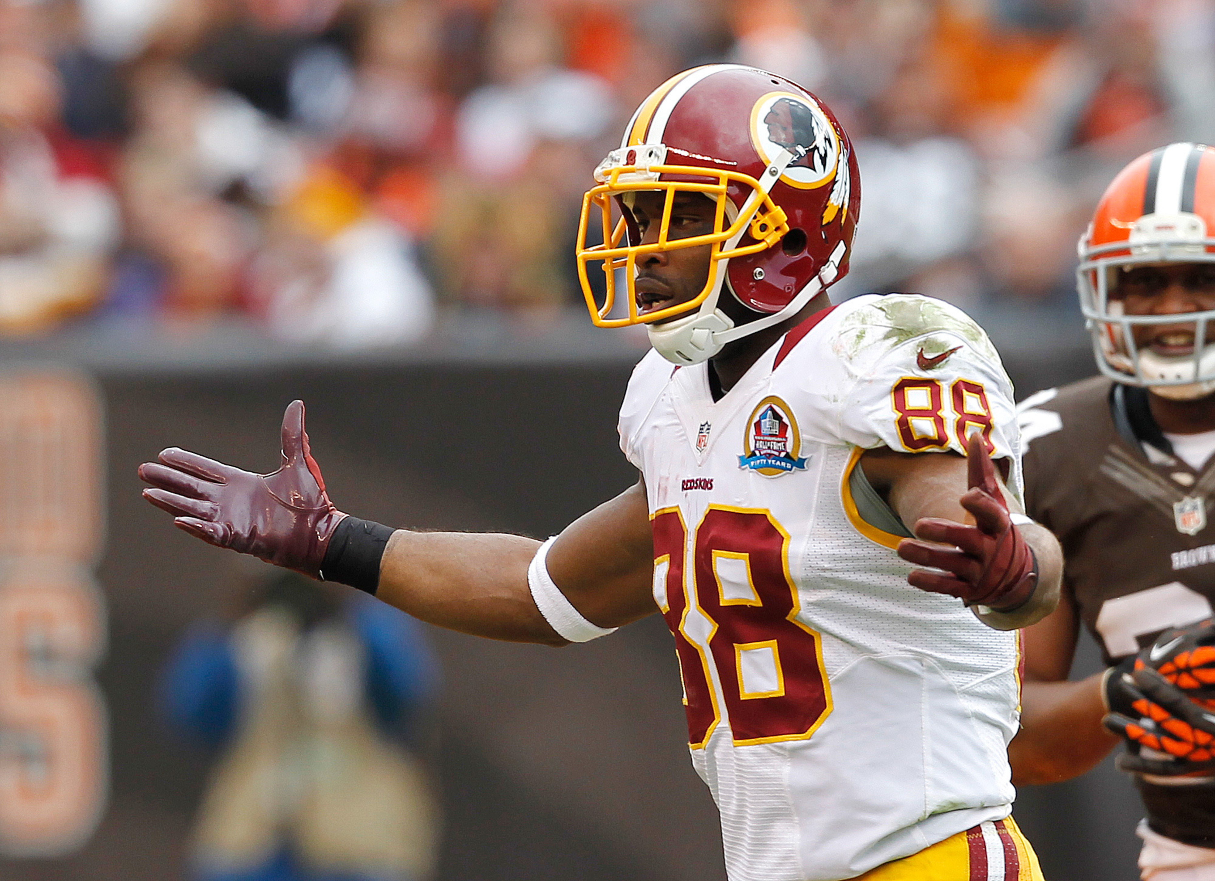 """""""ALL ABOARD THE REDSKINS BANDWAGON! WE'LL WELCOME YOU WITH OPEN ARMS"""""""