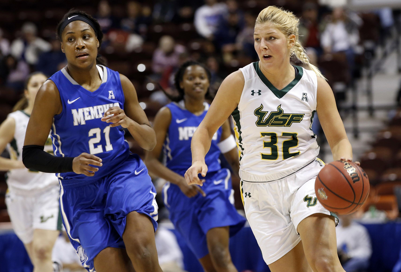 NCAA Womens Basketball: American Conference Tournament-USF vs Memphis